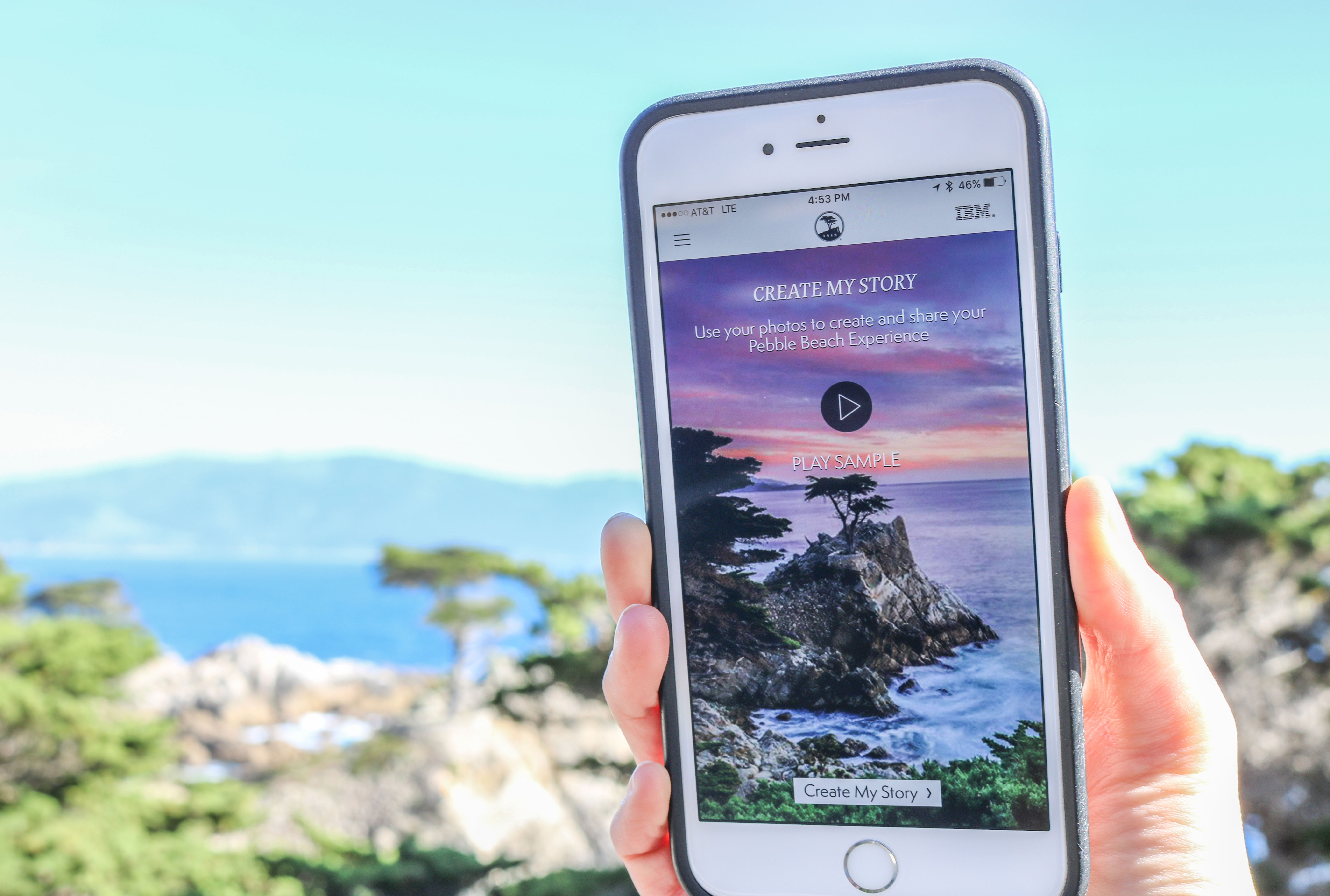 Pebble Beach app