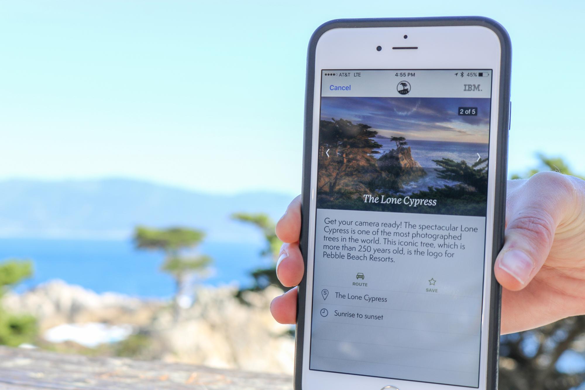 the pebble beach app