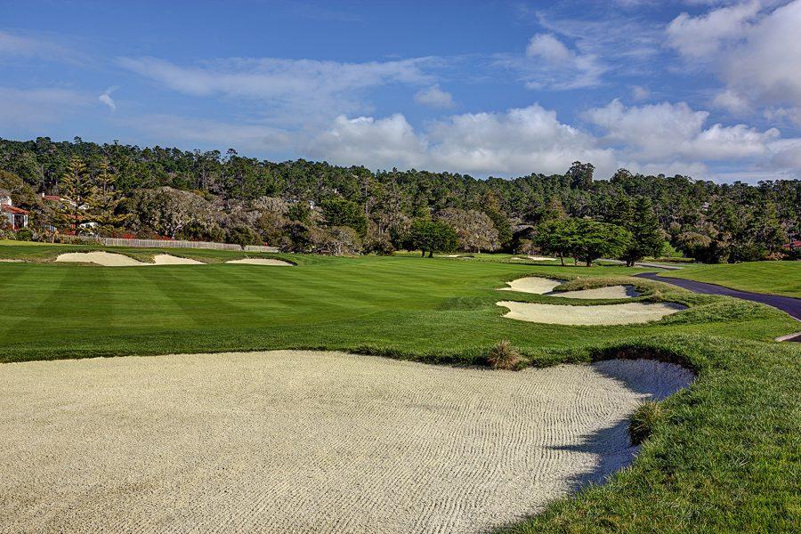 Pebble Beach Golf Links Pebble Beach Resorts - Us-open-court-map