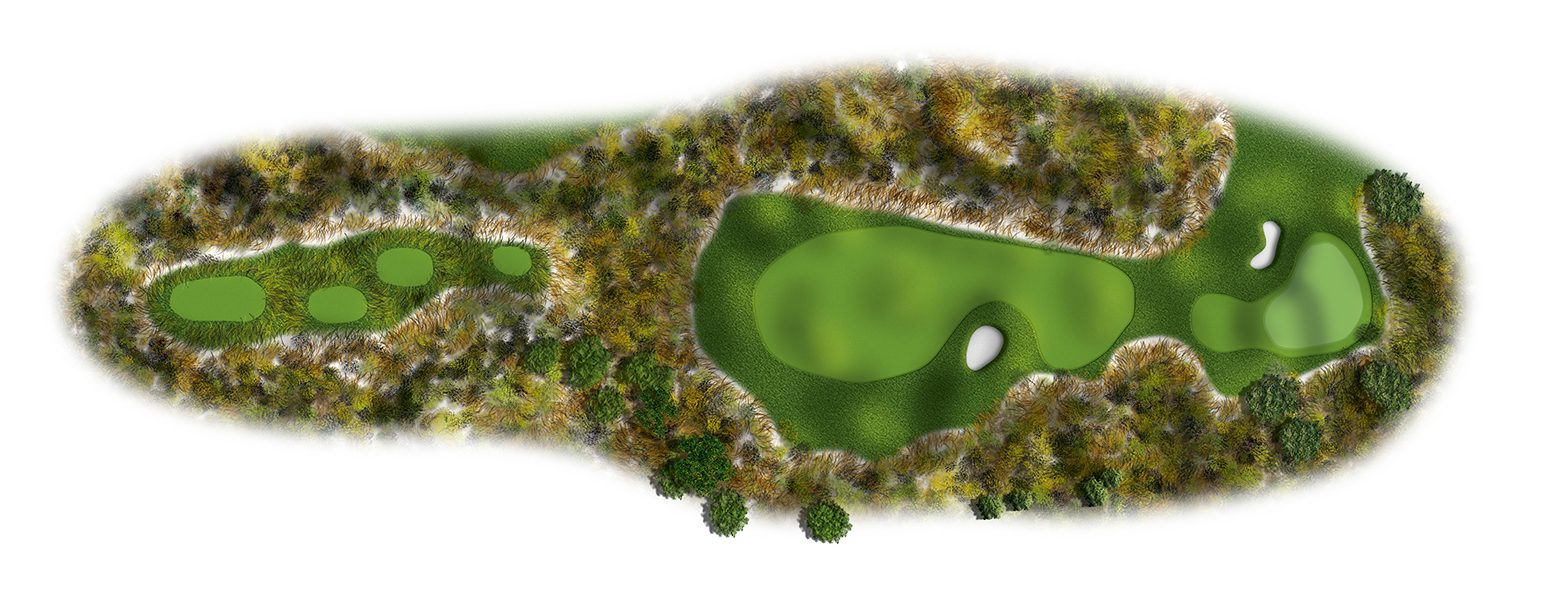 The Links at Spanish Bay golf course hole layout 02sb2016-ed