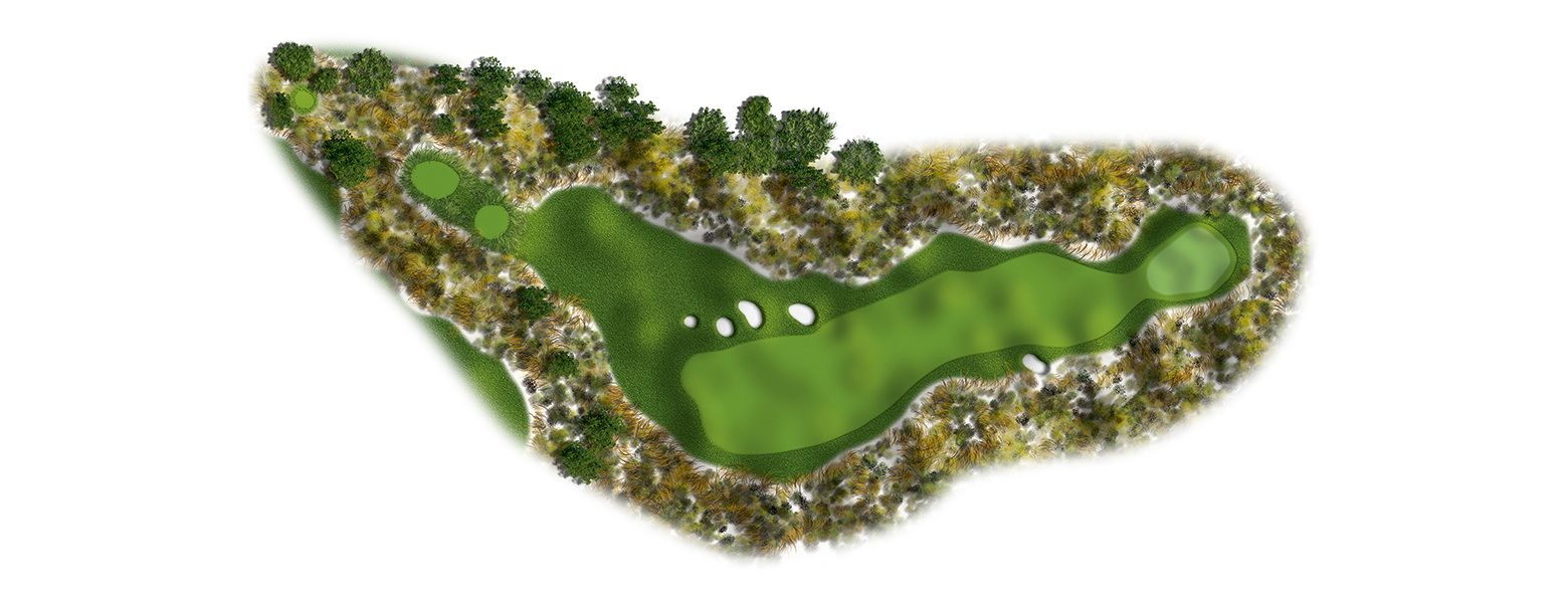 The Links at Spanish Bay golf course hole layout 03sb2016-ed