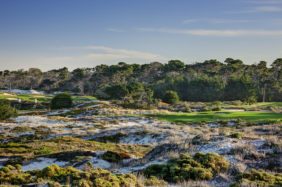 4th hole at Spyglass Hill