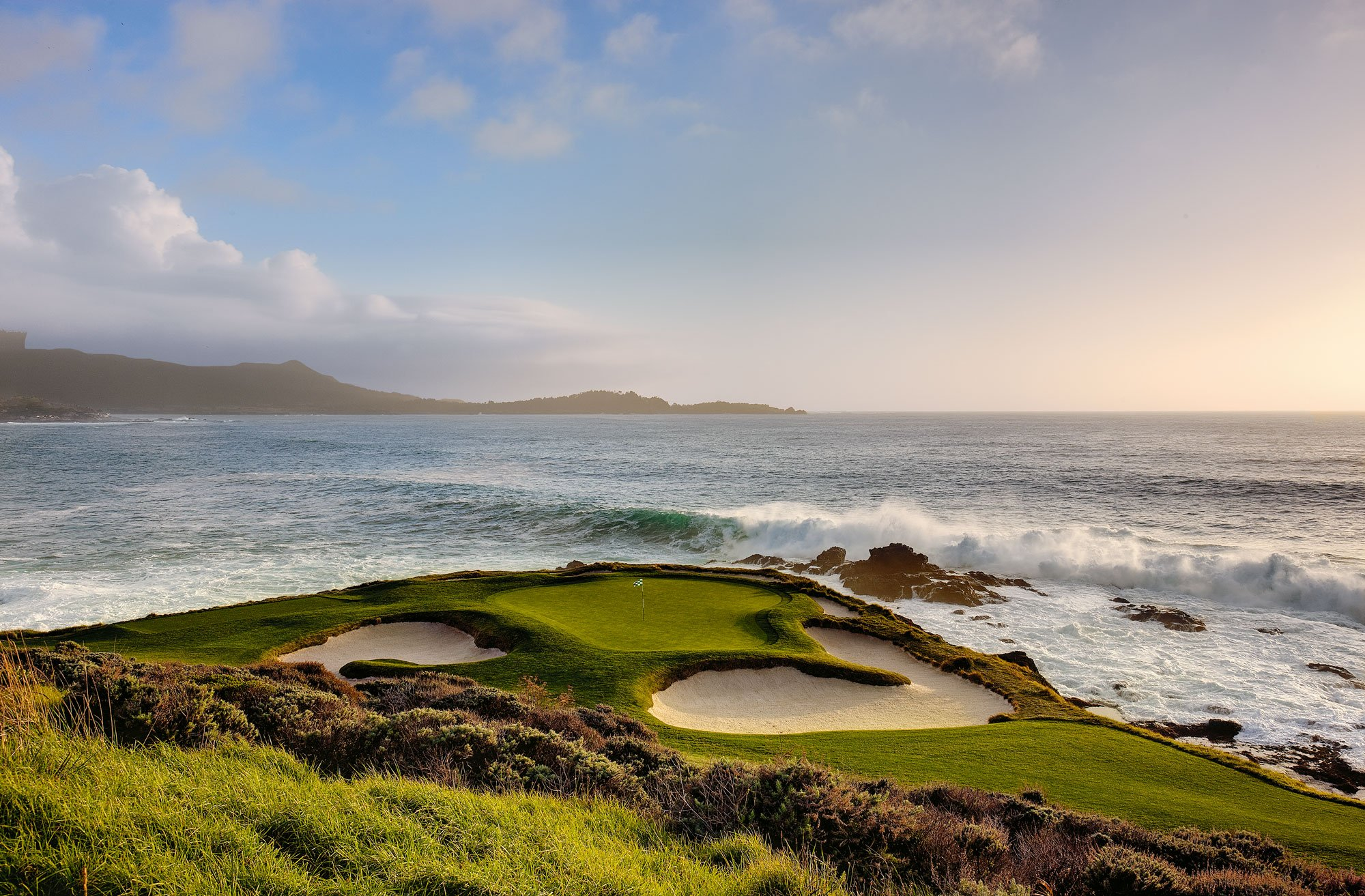 7th hole at Pebble Beach