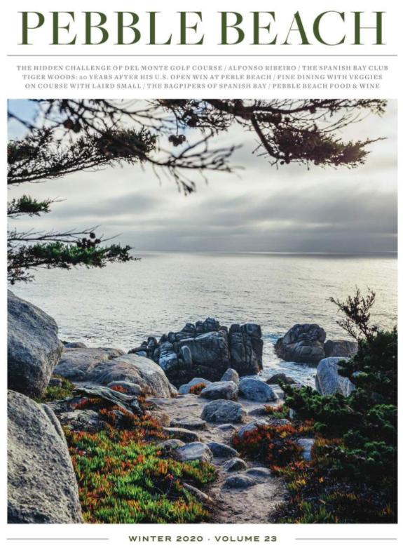 Pebble Beach The Magazine cover