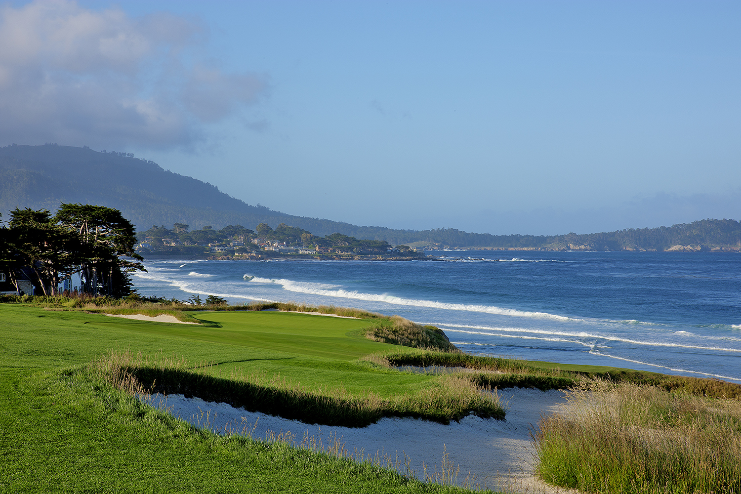 10th hole at Pebble Beach