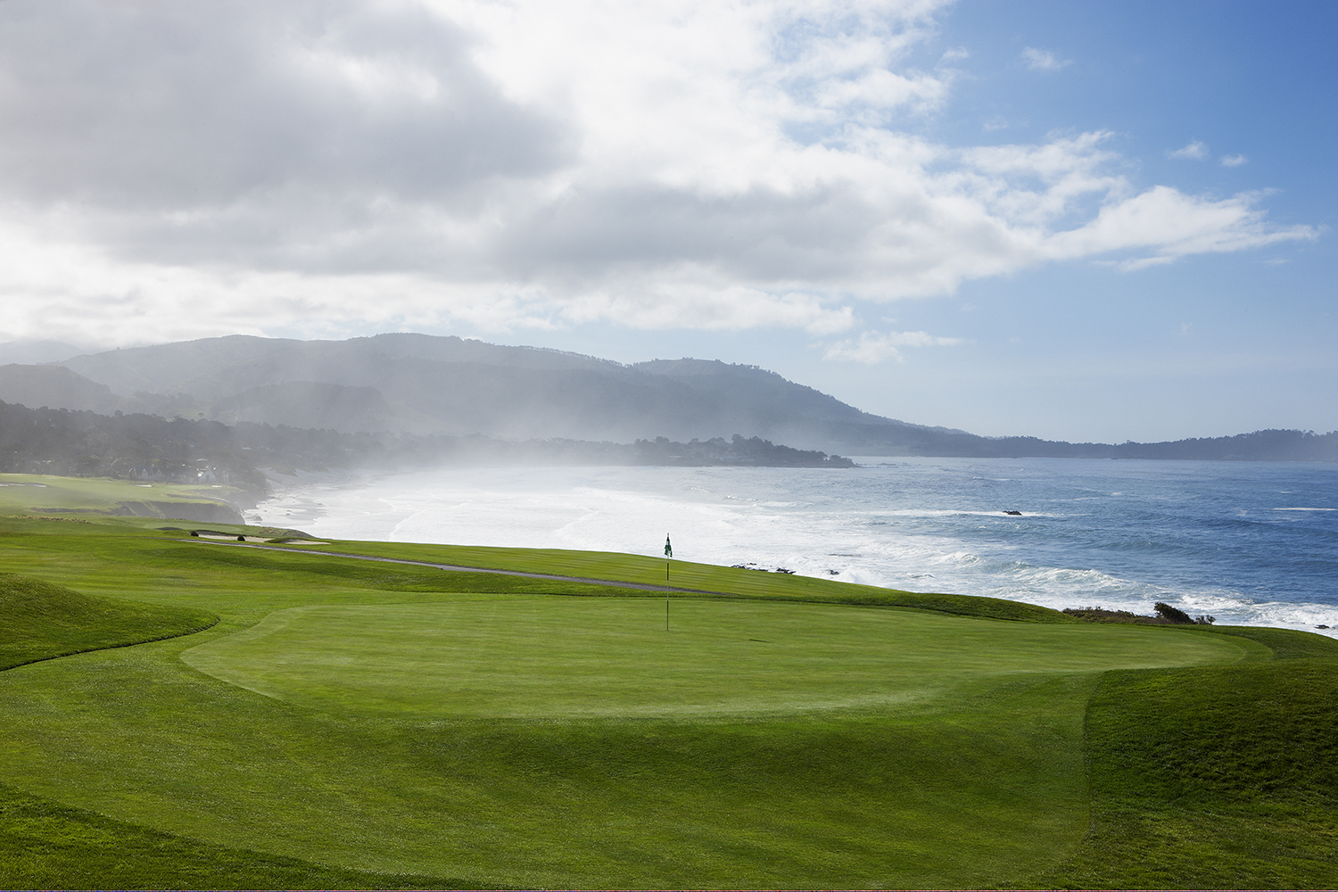 13th hole at Pebble Beach