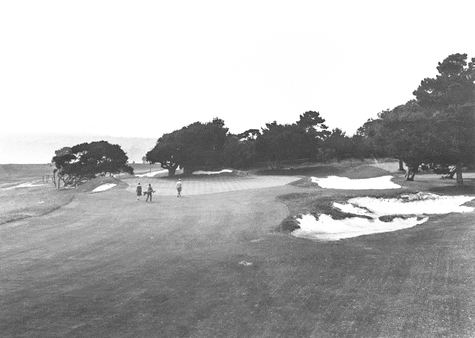13th green in 1928