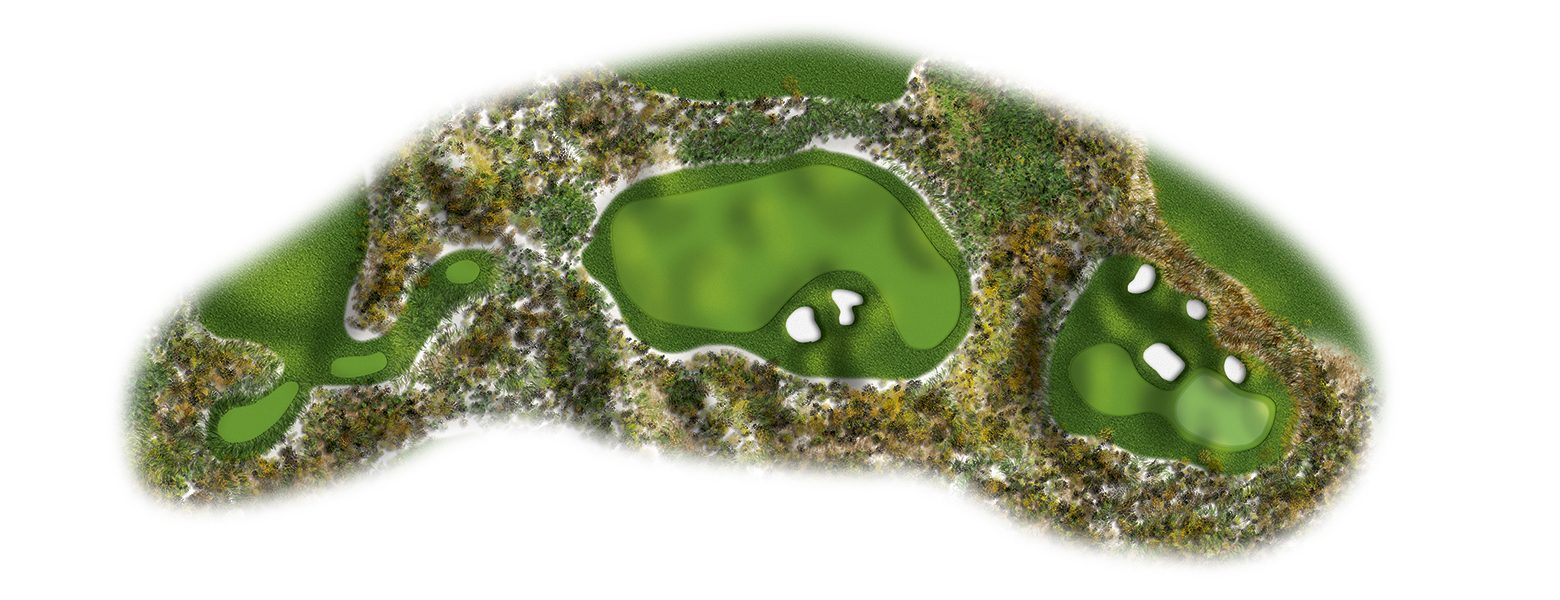 The Links at Spanish Bay golf course layout 15sb2016-ed