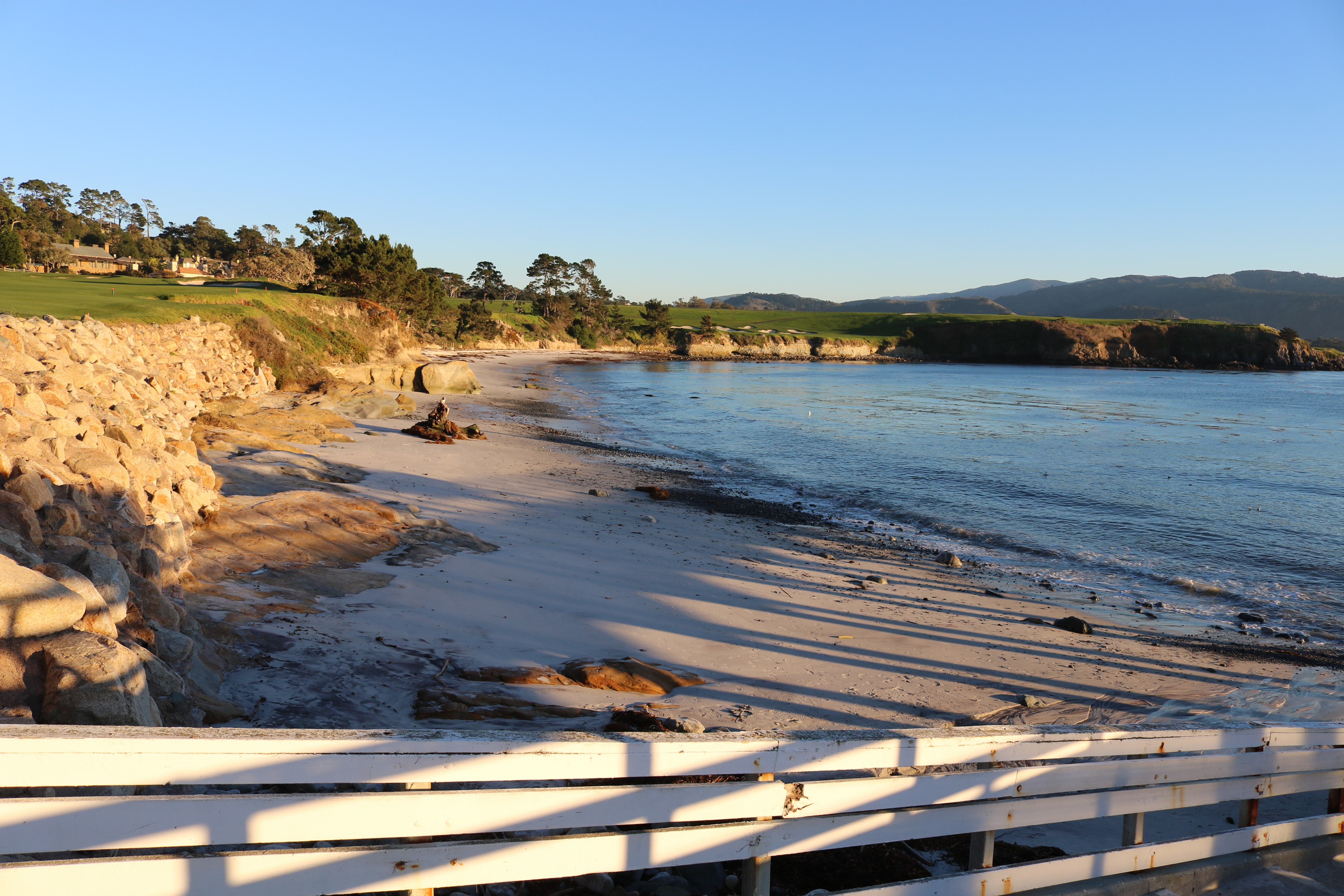 Just Below The Beach Tennis Club At Pebble Sits An Undisturbed Strand Of Sand That Meanders Alongside Fourth And Fifth Holes