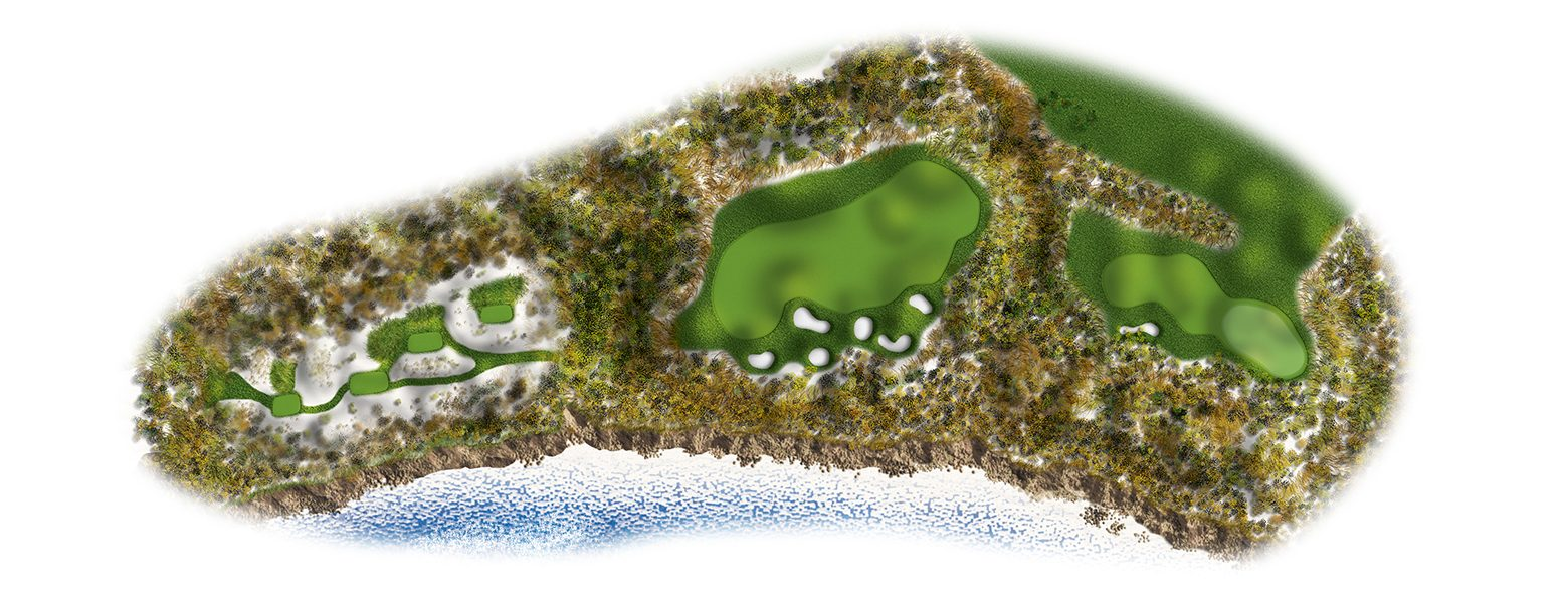 The Links at Spanish Bay golf course layout 17sb2016-ed