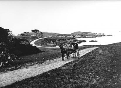 scenic 17-Mile Drive in 1881