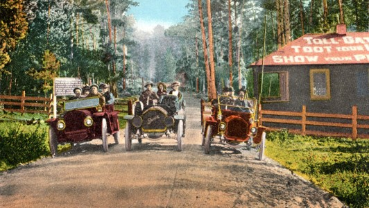 first toll for 17-Mile Drive in 1901