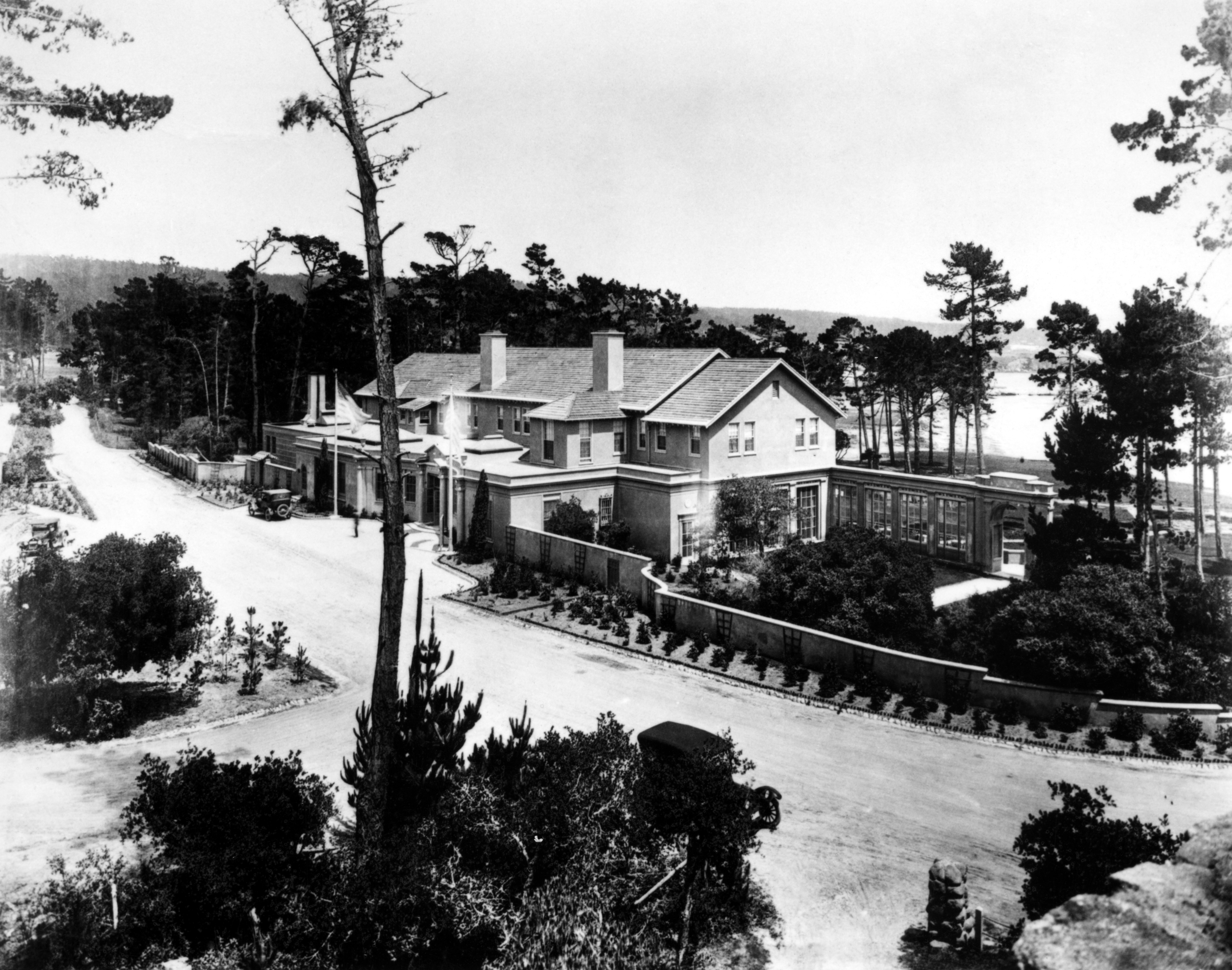 The Lodge in 1919