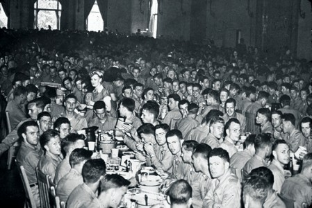 naval pre-flight school mess hall