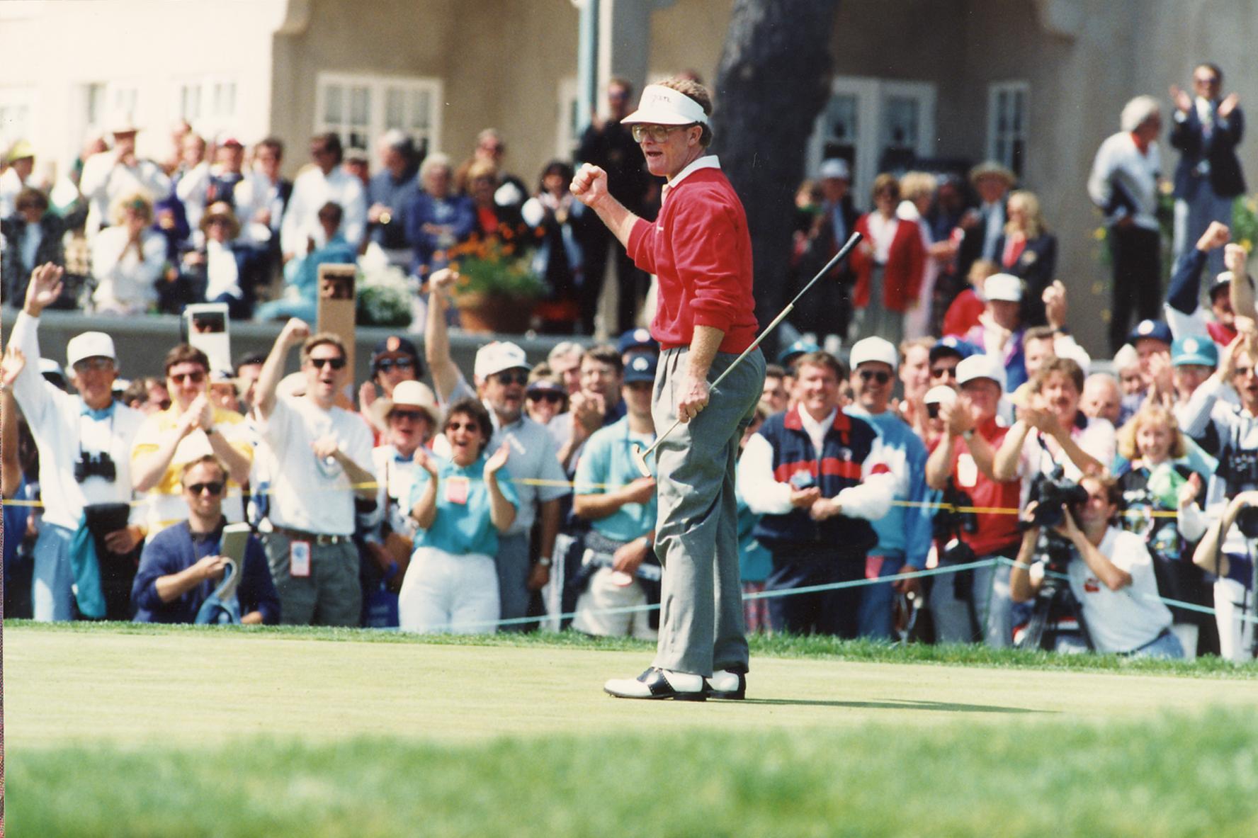 Tom Kite wins 1992 U.S. Open