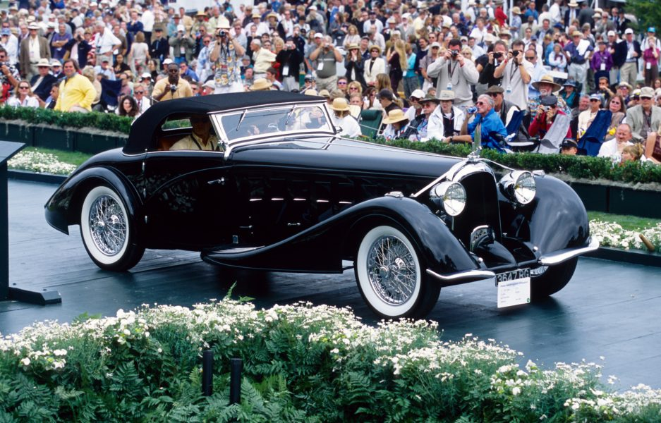 This 1934 Voisin C-15 Saliot Roadster won Best of Show honors at the 2002 Pebble Beach Concours d'Elegance.