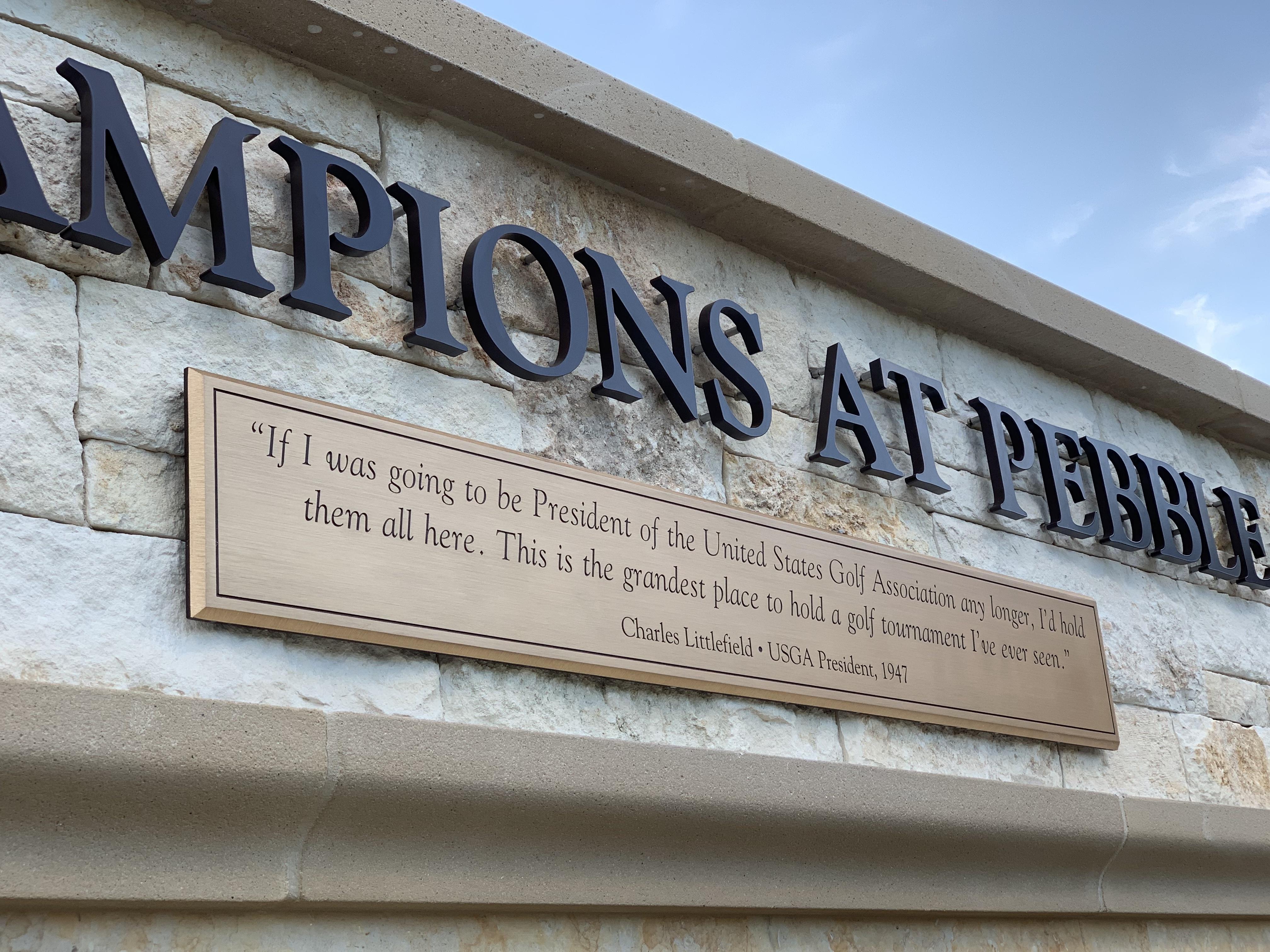 Major Champions at Pebble Beach