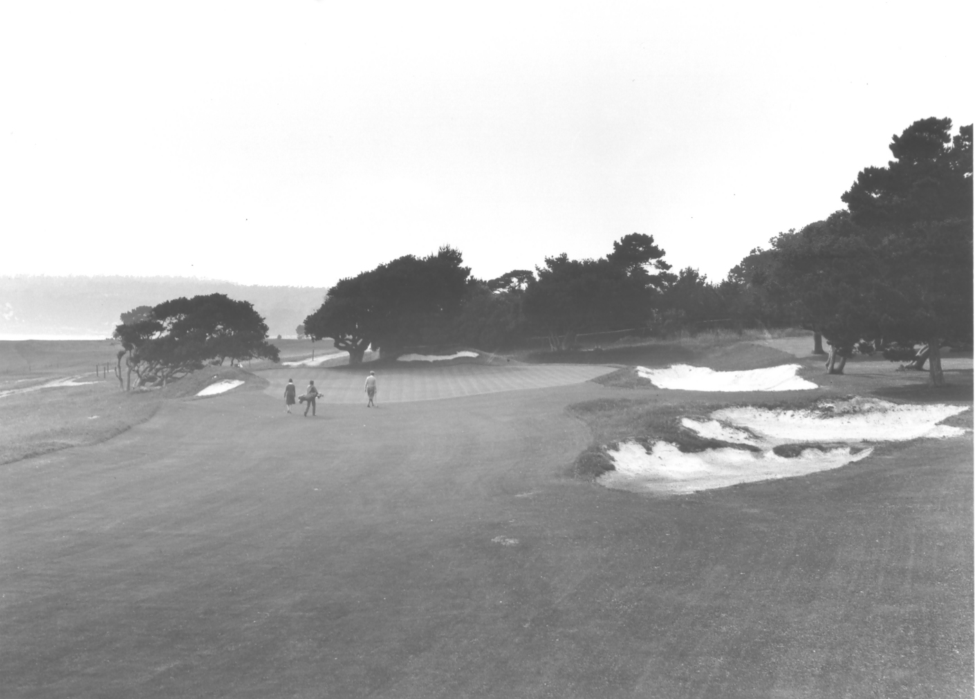 13th green Pebble Beach