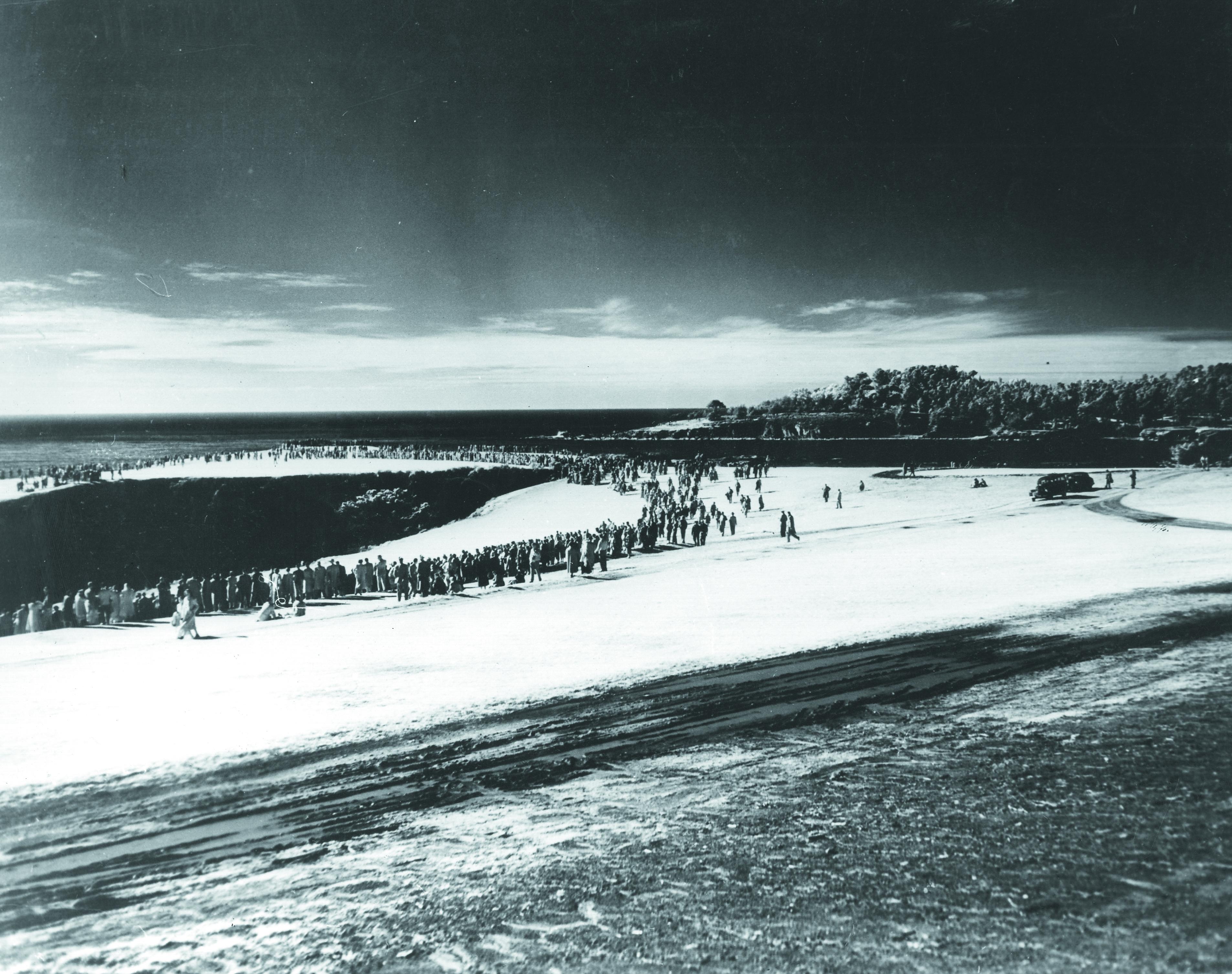 Snow at the 1962 Bing Crosby
