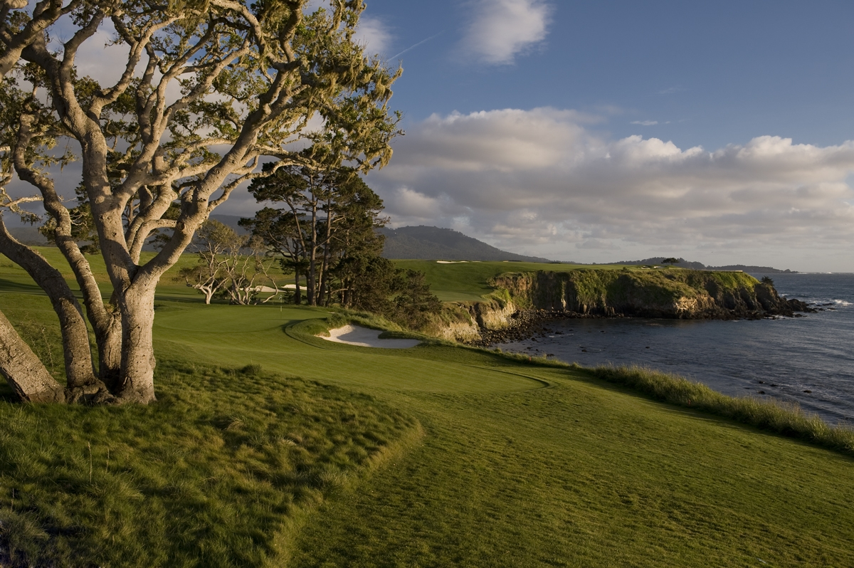 5th hole at Pebble Beach