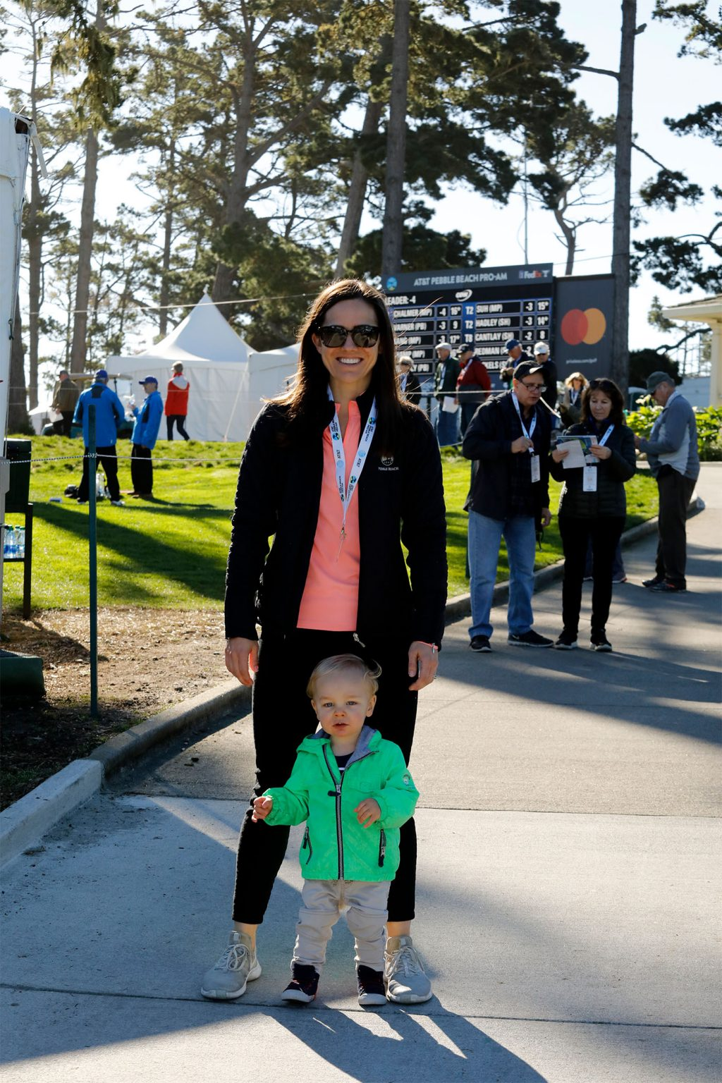 Fans at the 2020 AT&T Pebble Beach Pro-Am