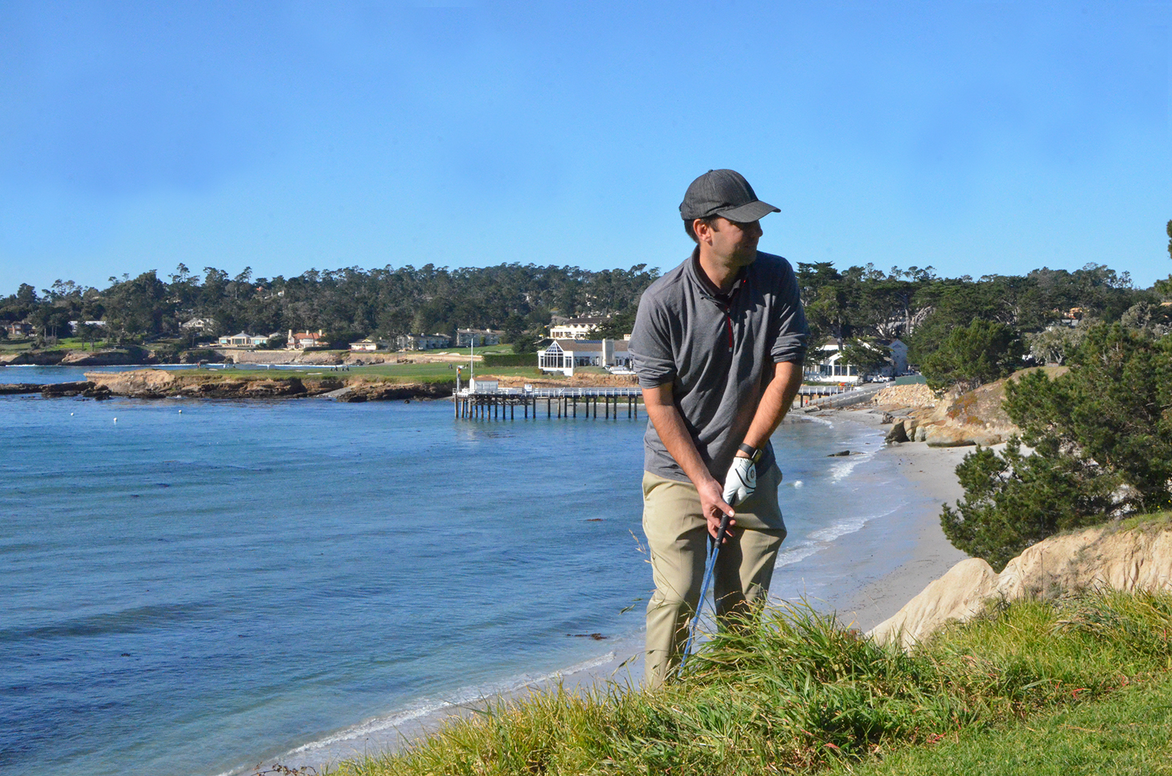 fifth hole at Pebble Beach
