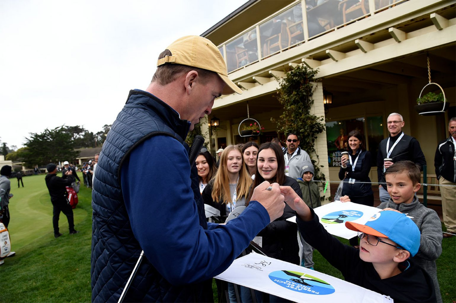 Autograph Zone at the 2020 AT&T Pebble Beach Pro-Am