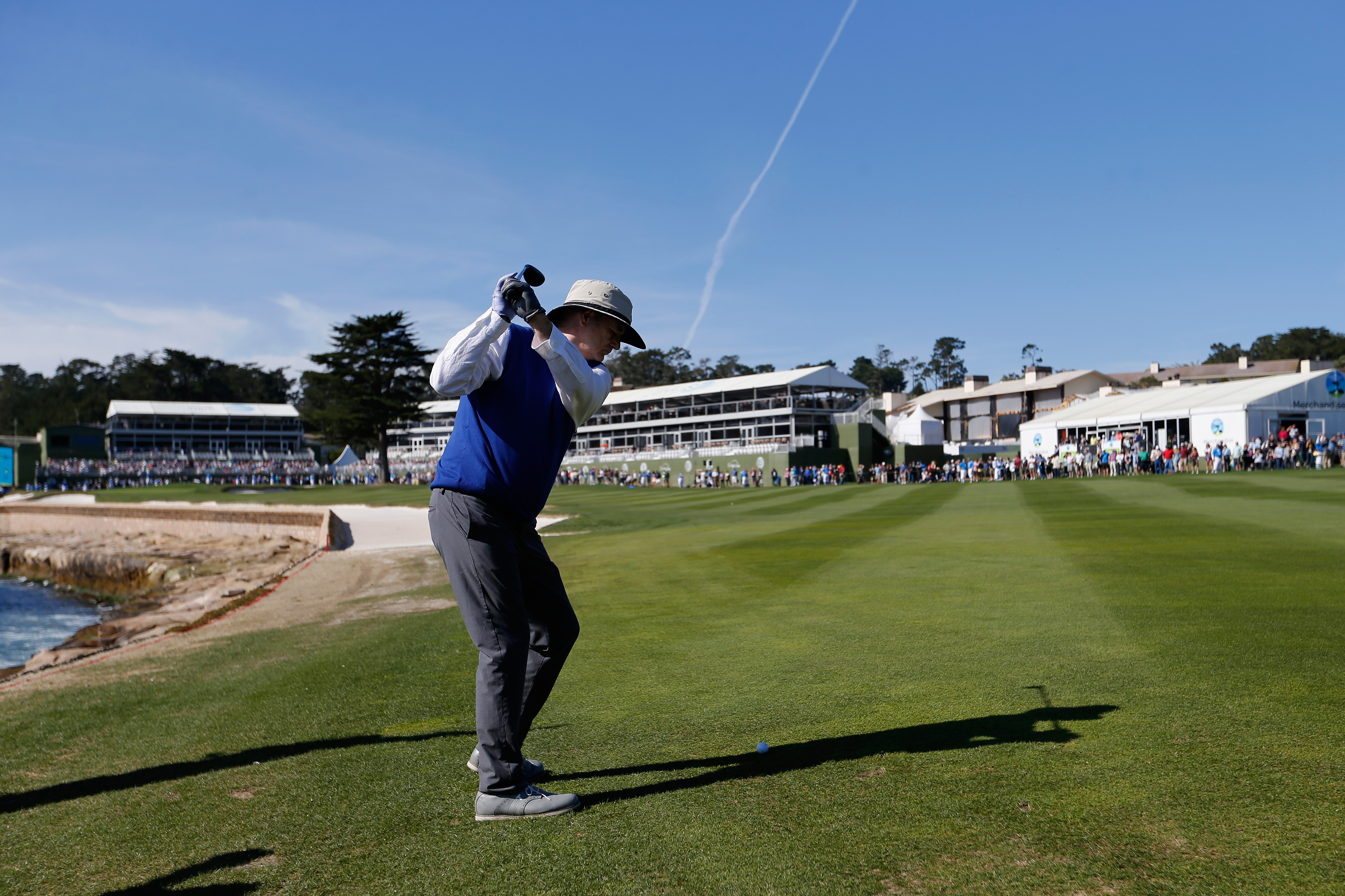 The Best Celebrities to Ever Play in the AT&T Pebble Beach