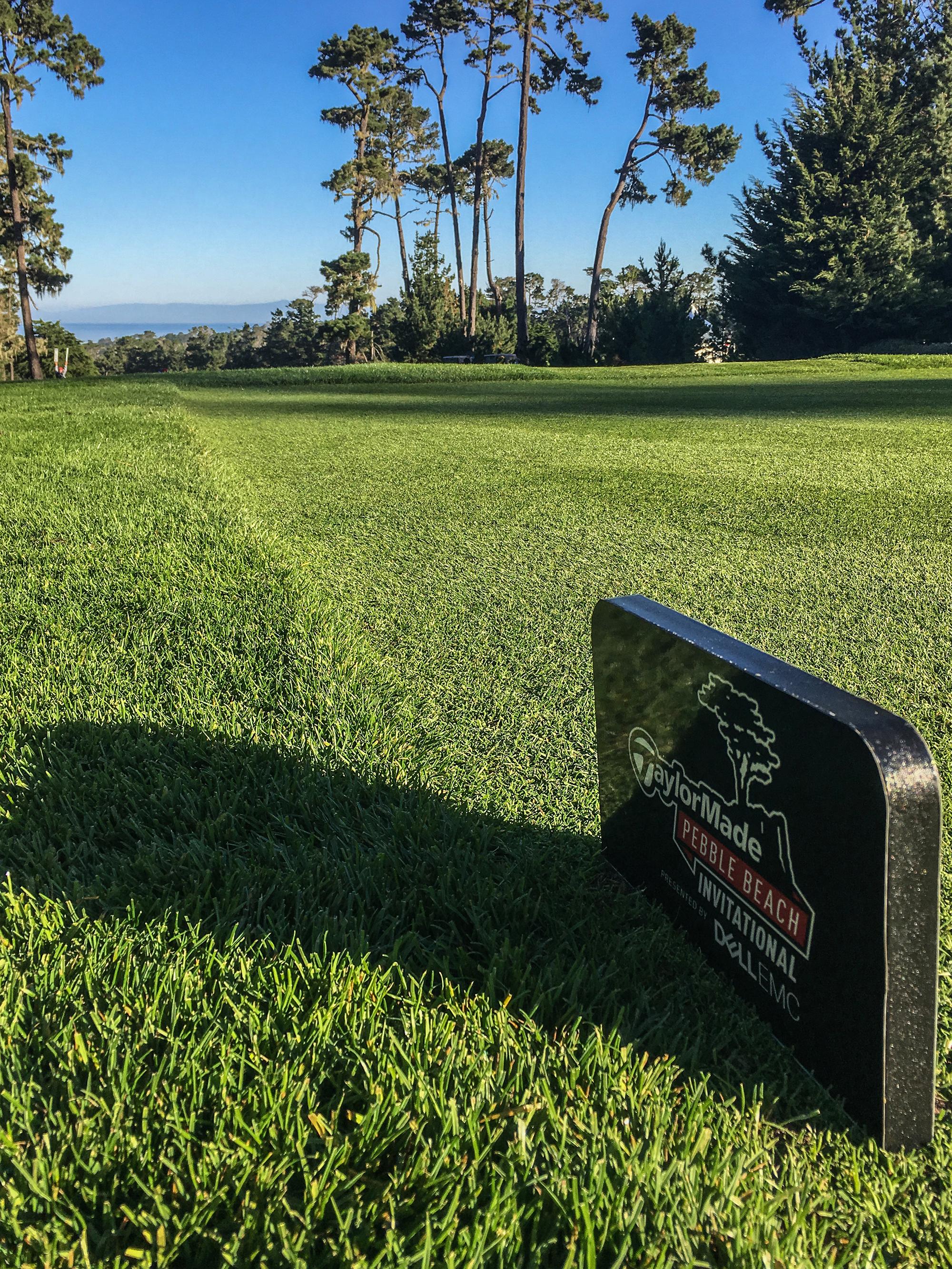 TaylorMade Pebble Beach Invitational marker
