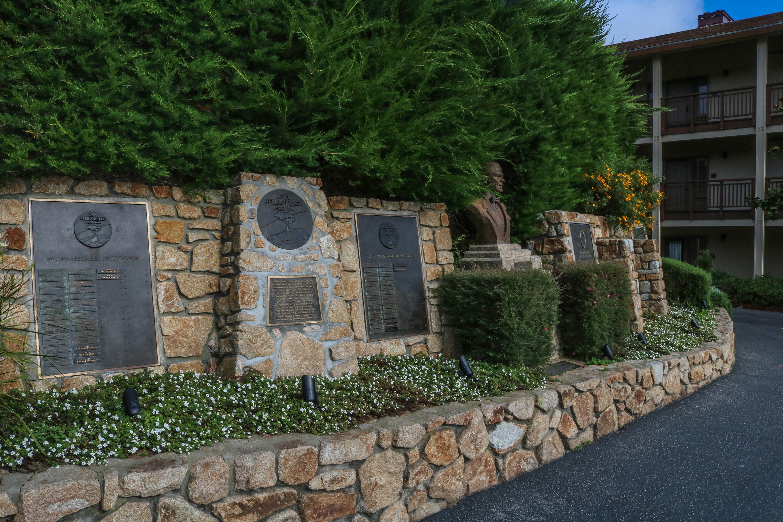 Pebble Beach Wall of Fame