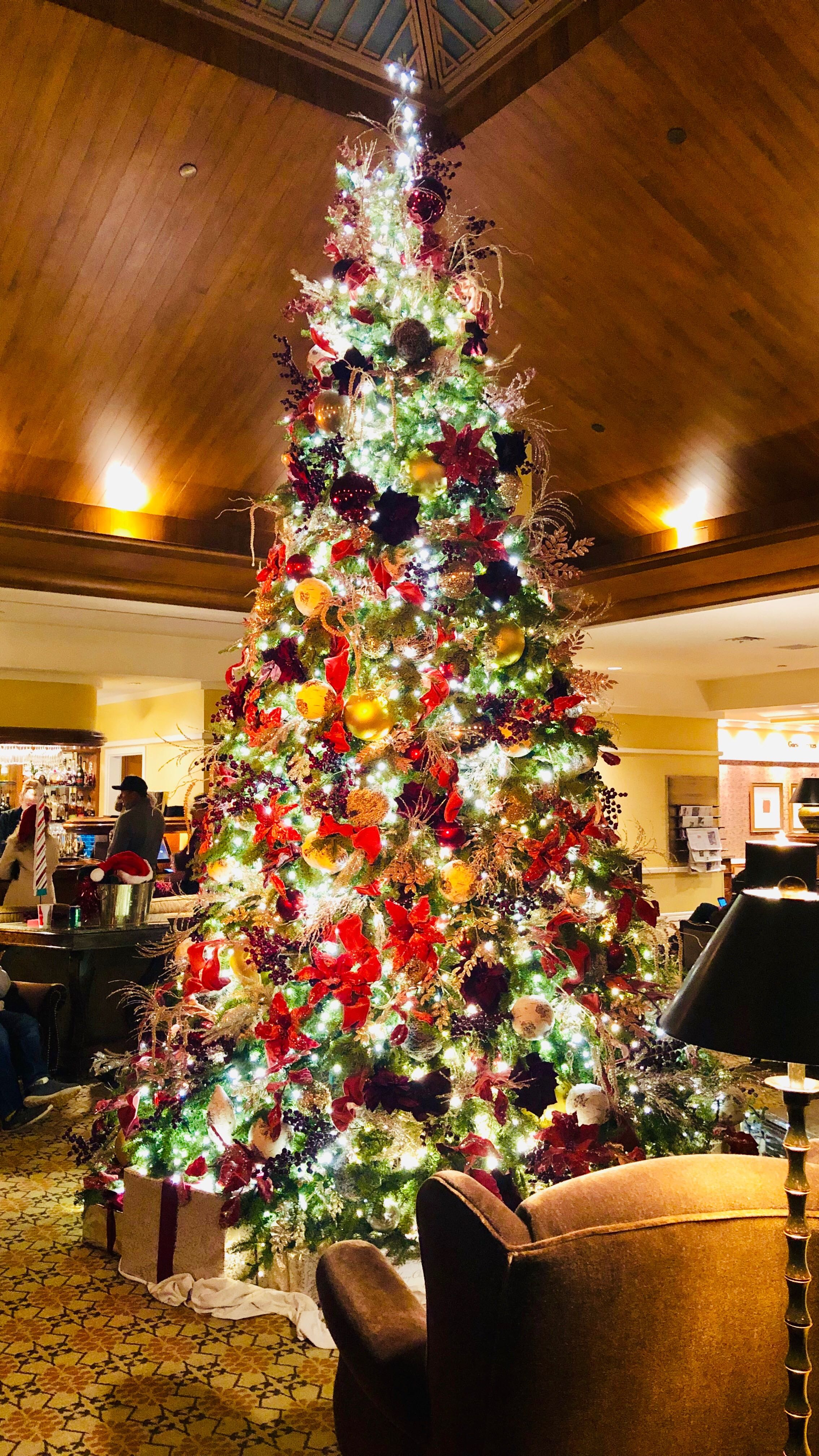 Spanish Bay Lobby Christmas Tree