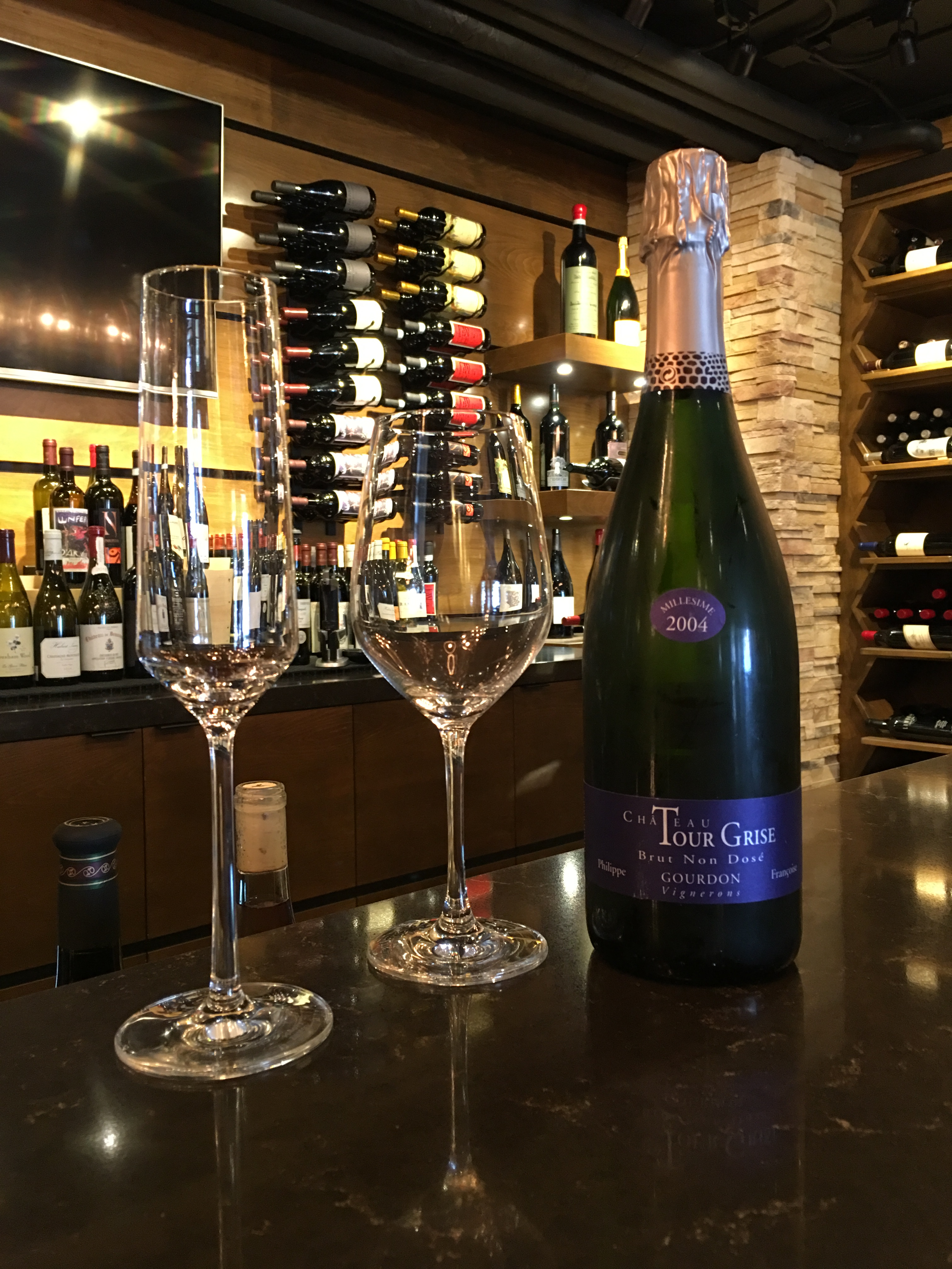 Sparkling Wine at Stave