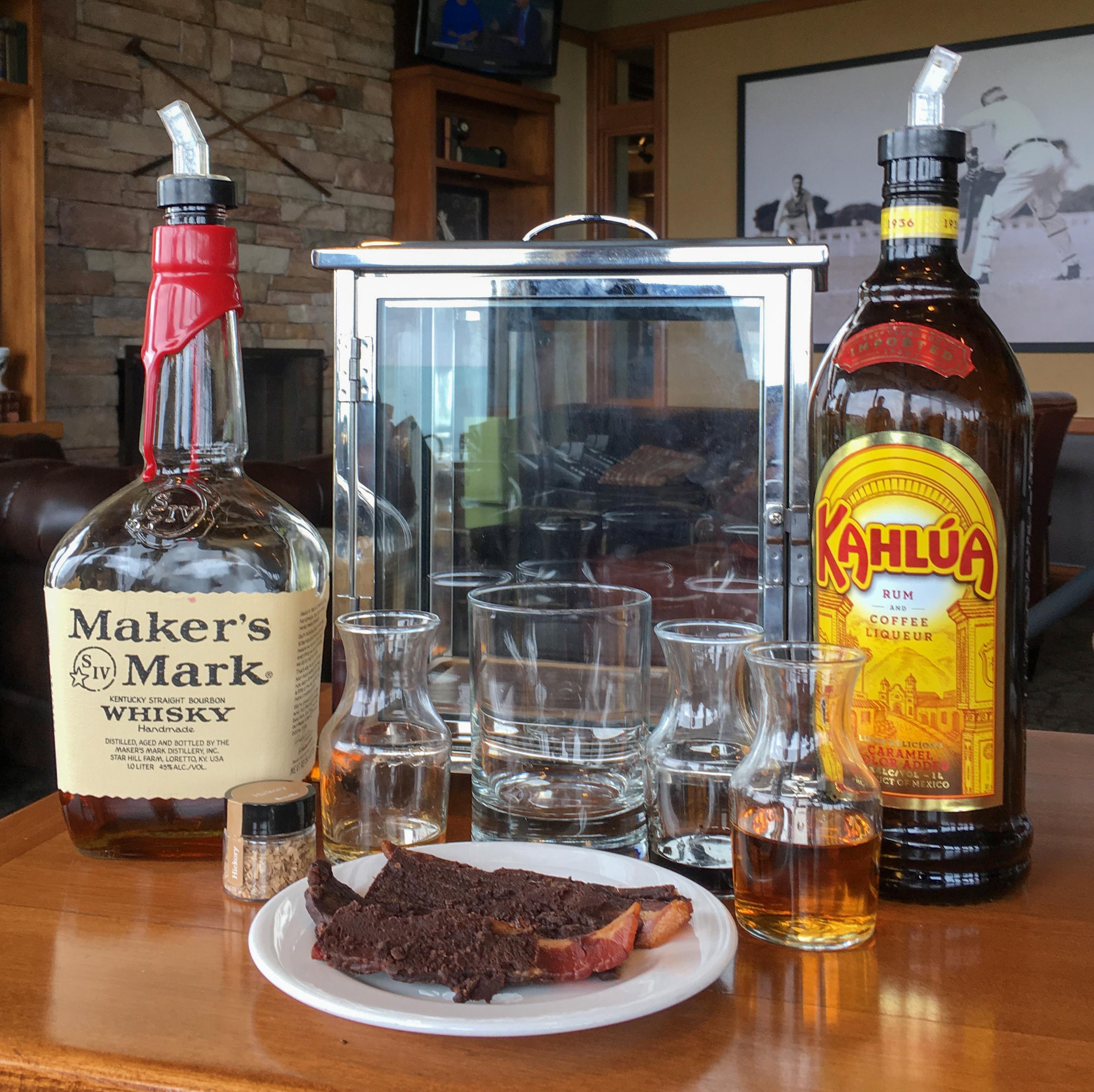 cocktail ingredients at STICKS