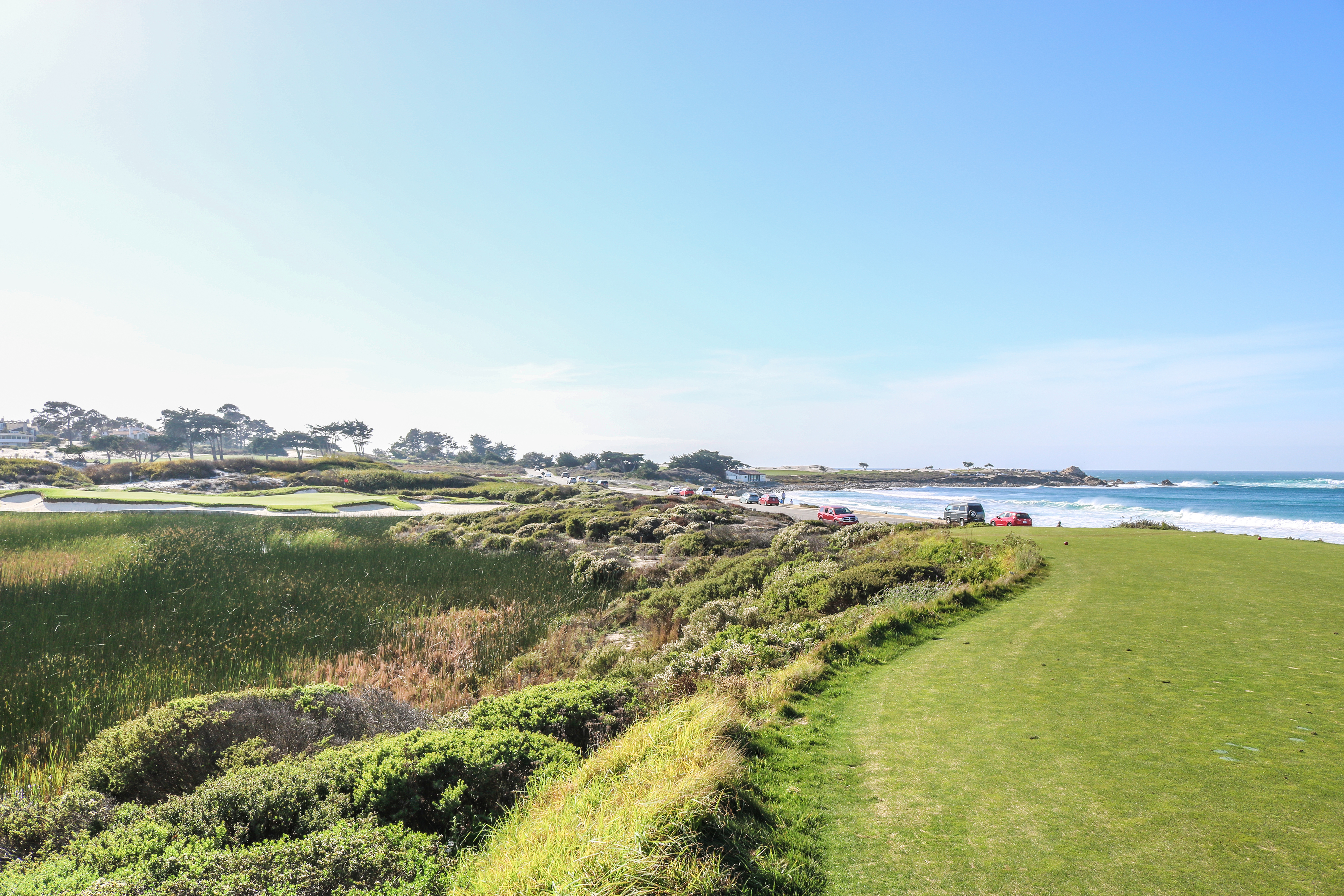 8th hole at Spanish Bay