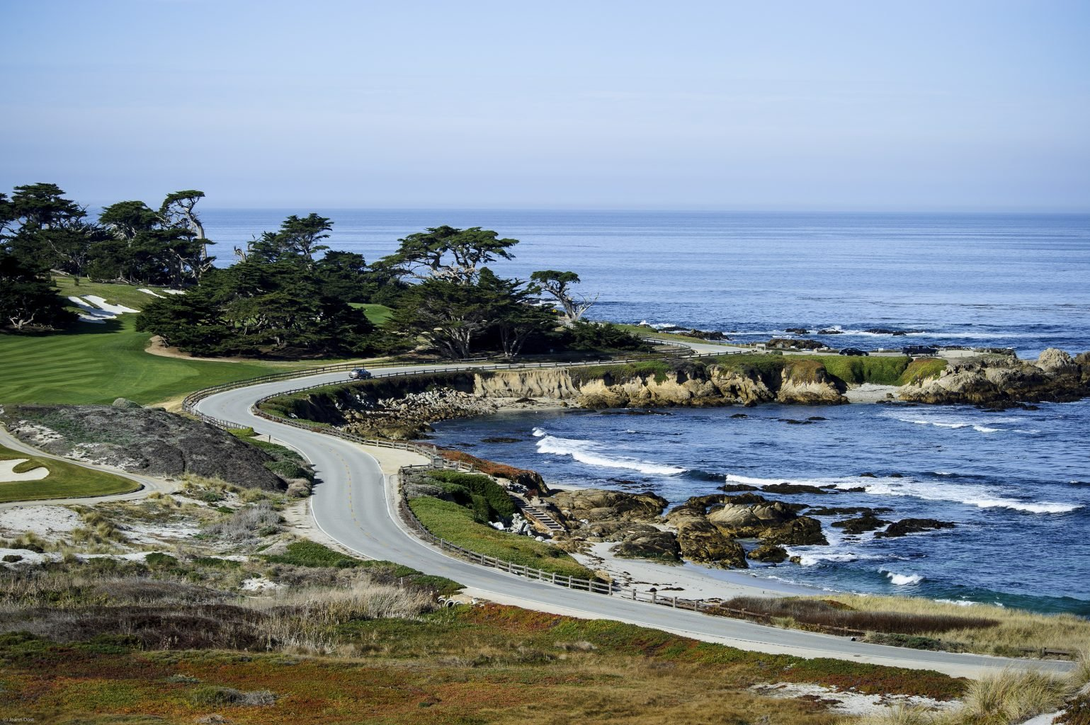 17 Mile Drive In Picturesque Pebble Beach