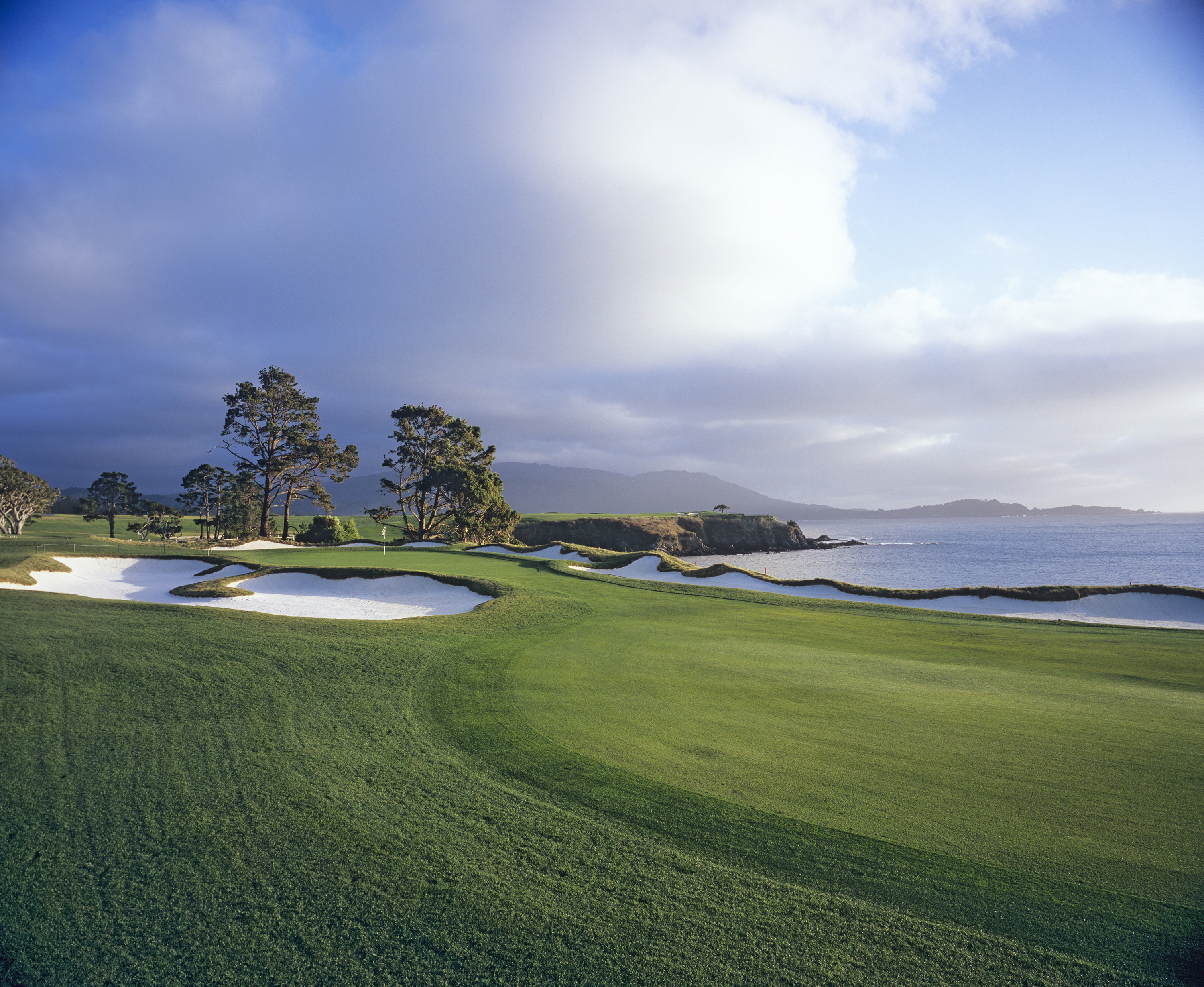4th hole at Pebble Beach