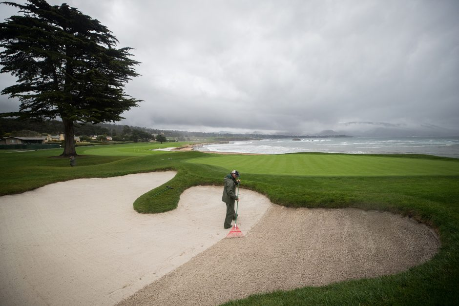 The USGA prefers to have the bunkers