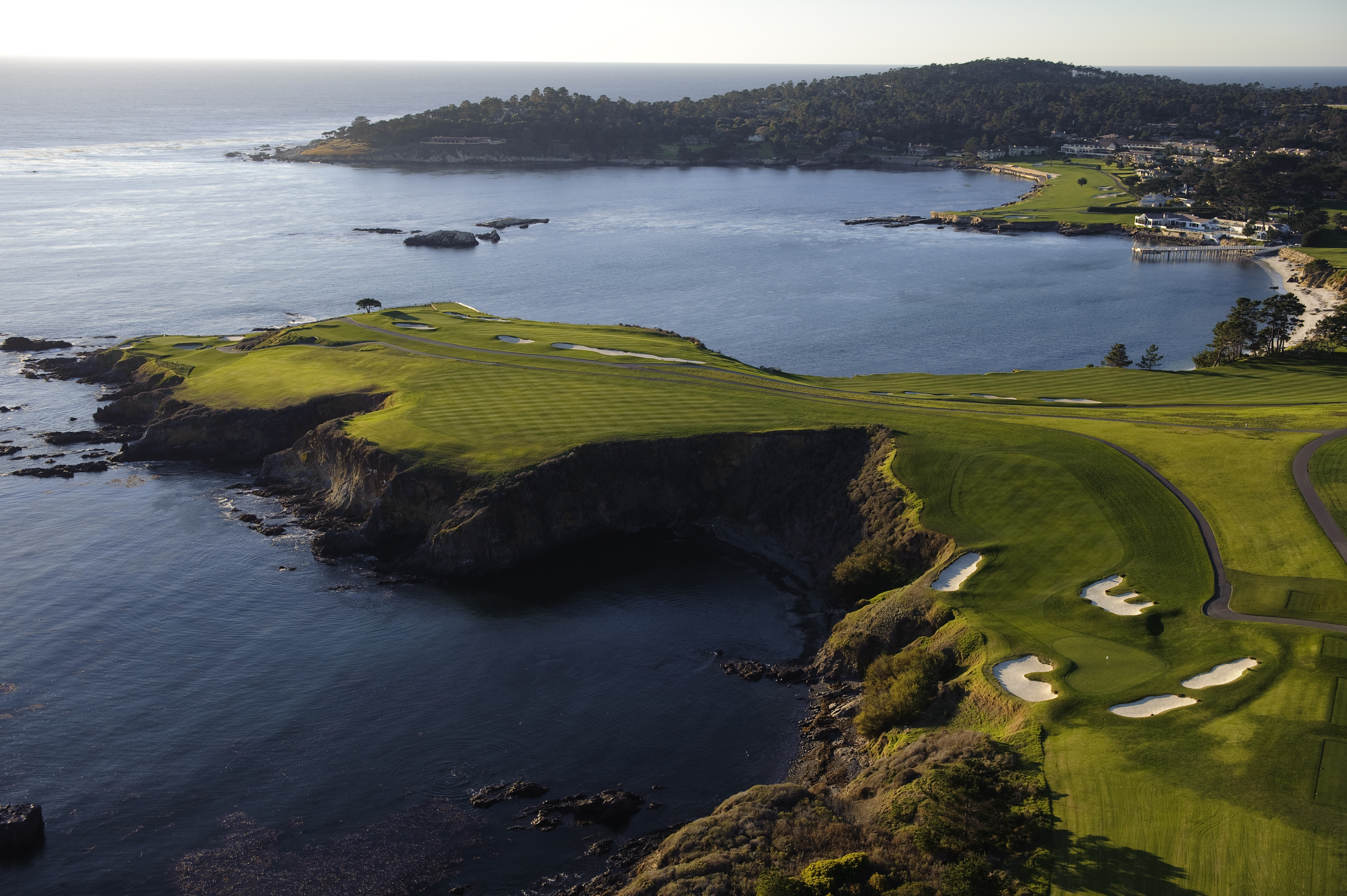 8th hole at Pebble Beach