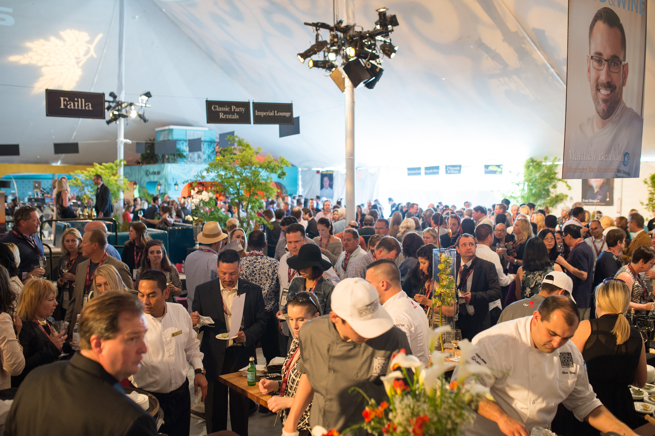 Pebble Beach Food and Wine Grand Tatsting