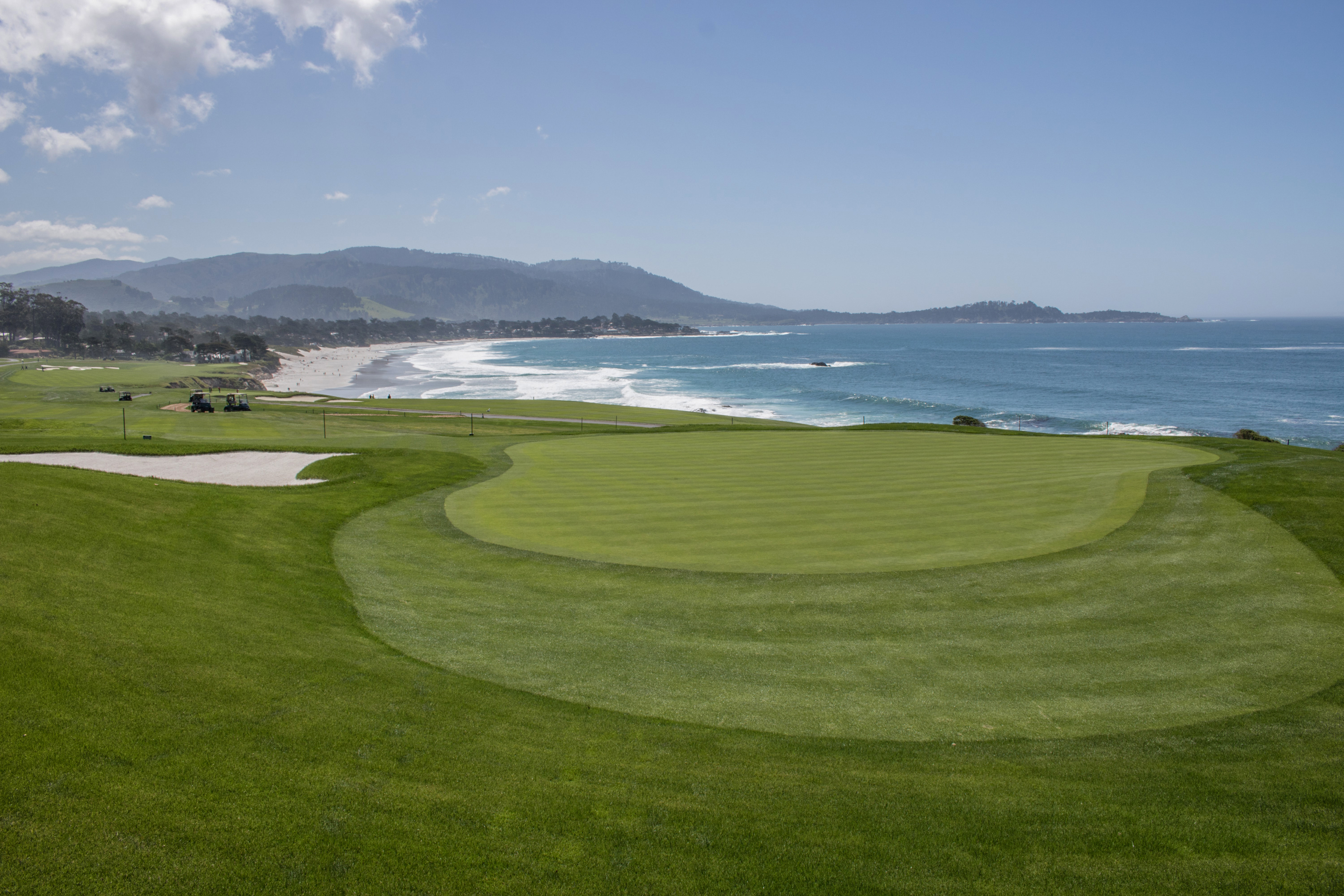 New 13th Green at Pebble Beach