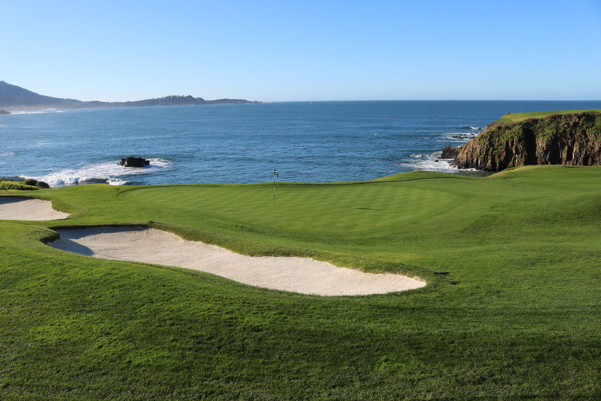 8th hole Pebble Beach