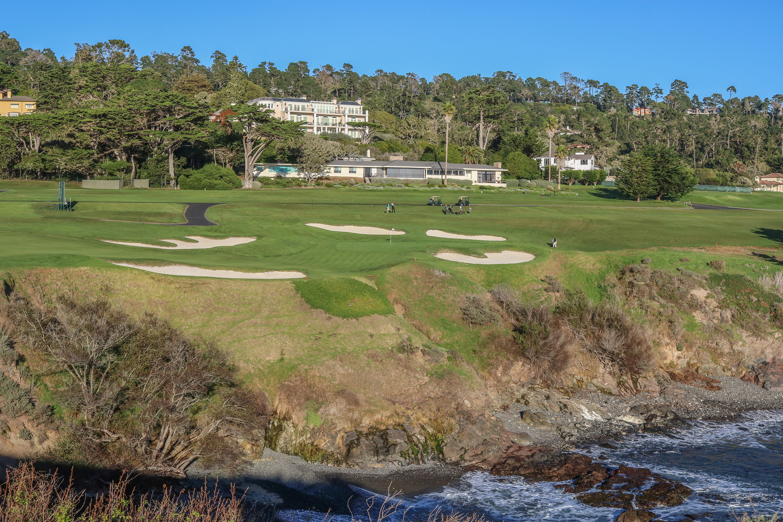 8th hole at Pebble Beach