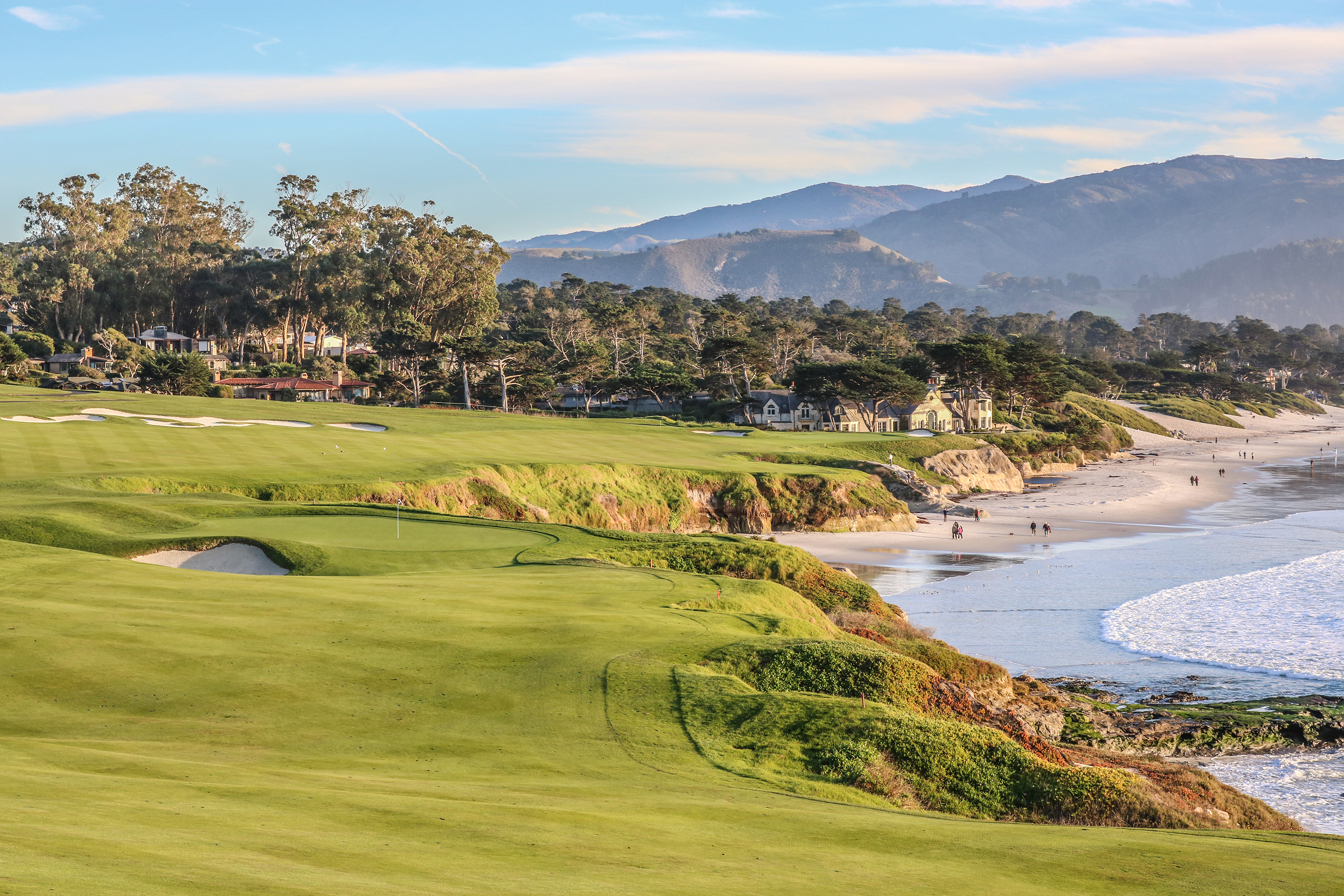9th and 10th holes Pebble Beach