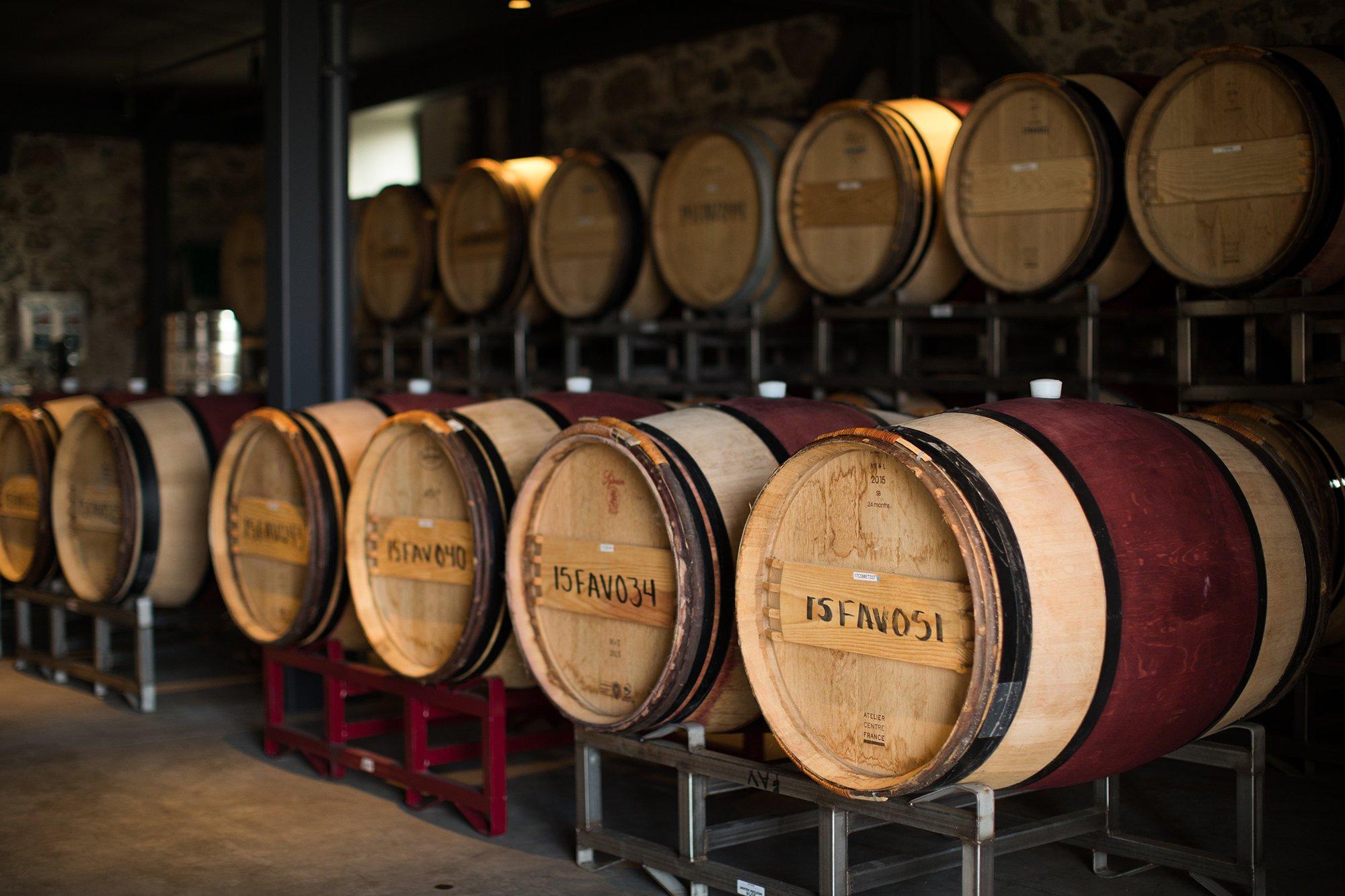 Centennial Wine Barrels