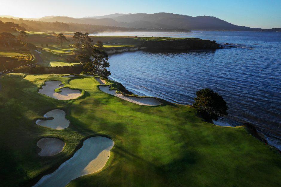 5th Hole at Pebble Beach Golf Links