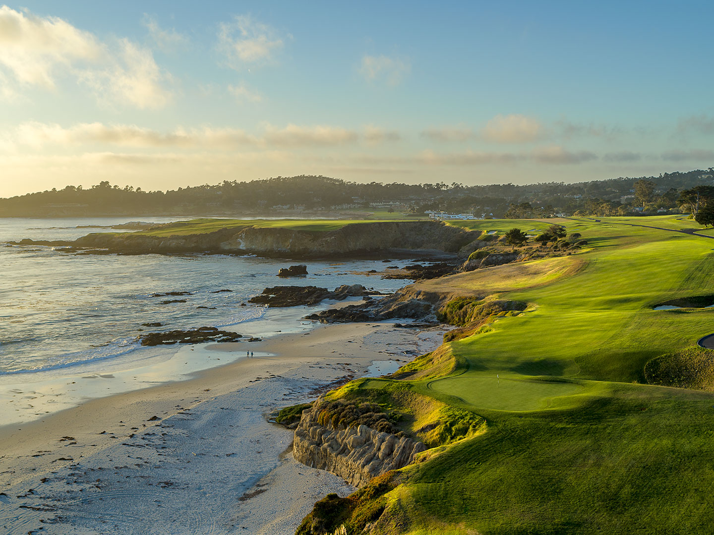 9th hole at Pebble Beach