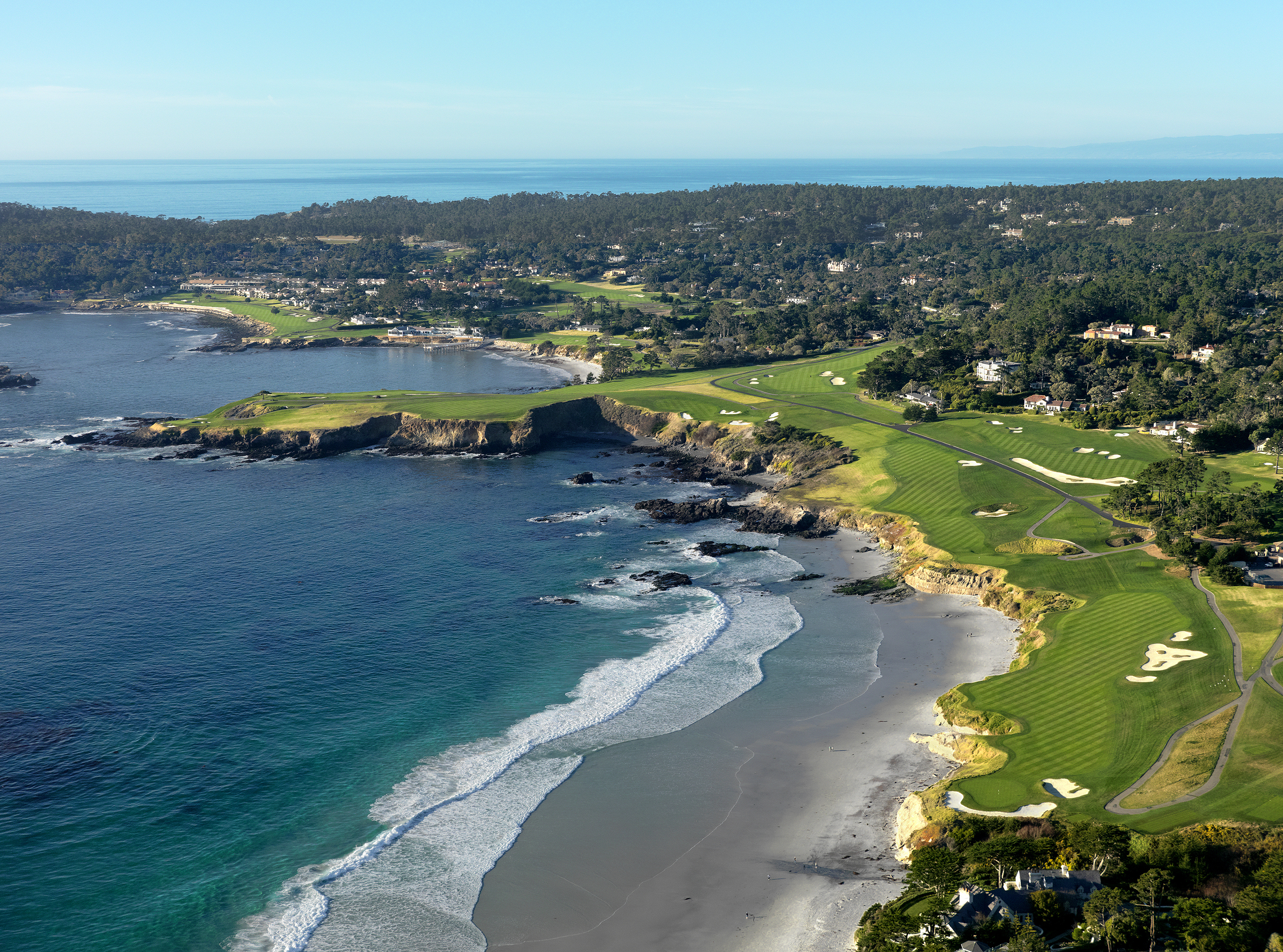 Pebble Beach Aerial