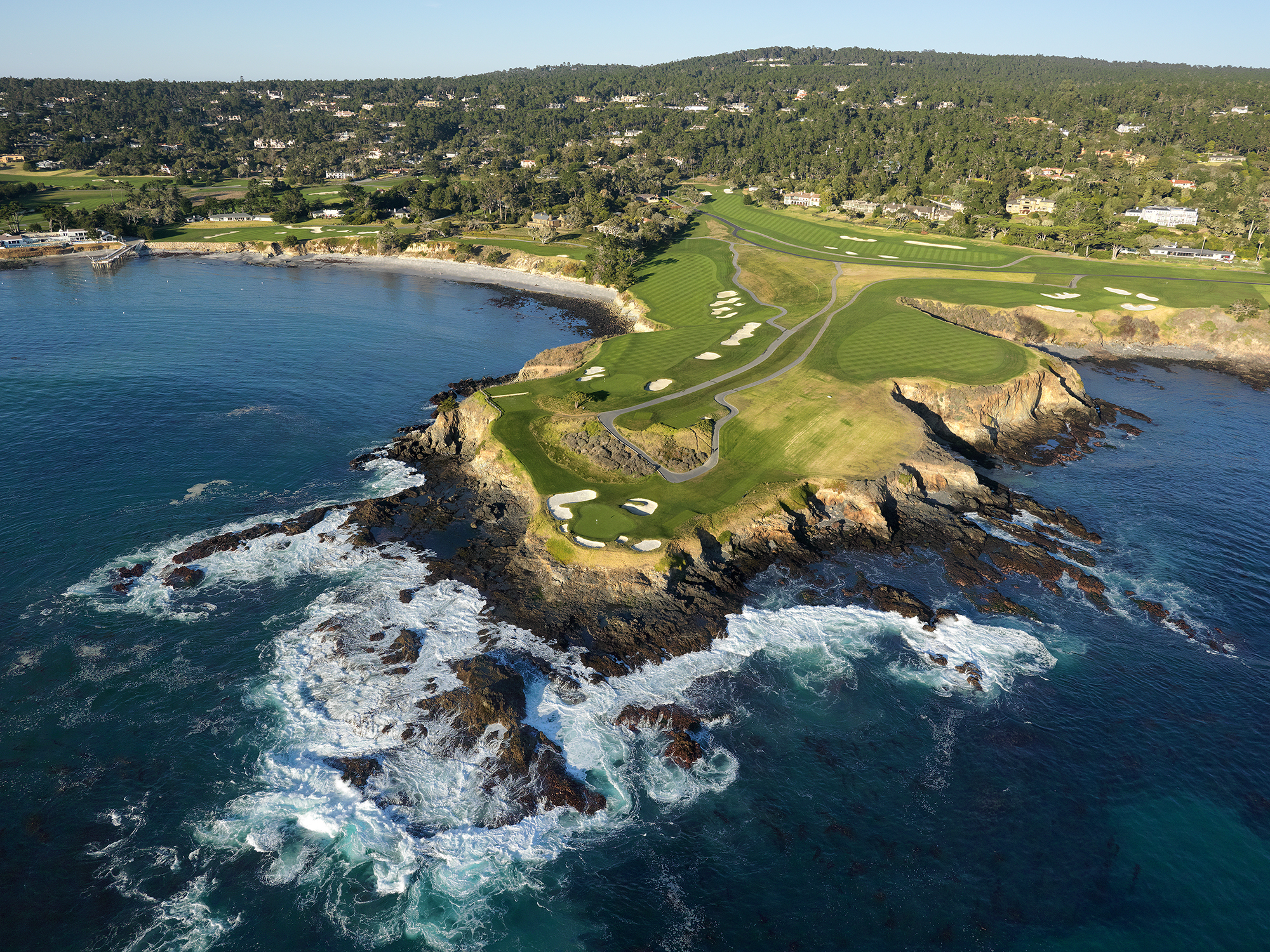 Image result for Pebble Beach Golf Links