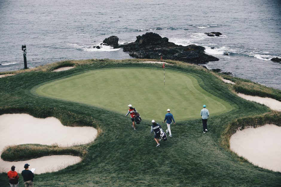 The seventh hole is the shortest par-3 in Major championship golf.