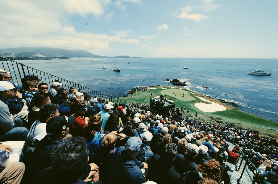 Just six public courses have ever hosted a U.S. Open, and only Pebble Beach has done so more than three times.